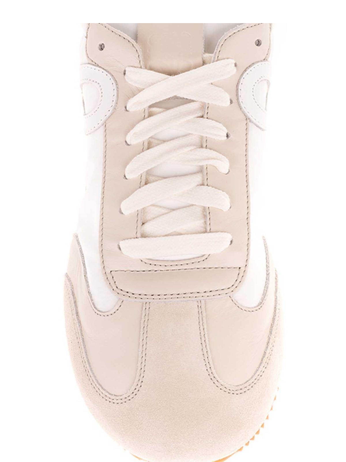 Loewe - Ballet sneakers in white