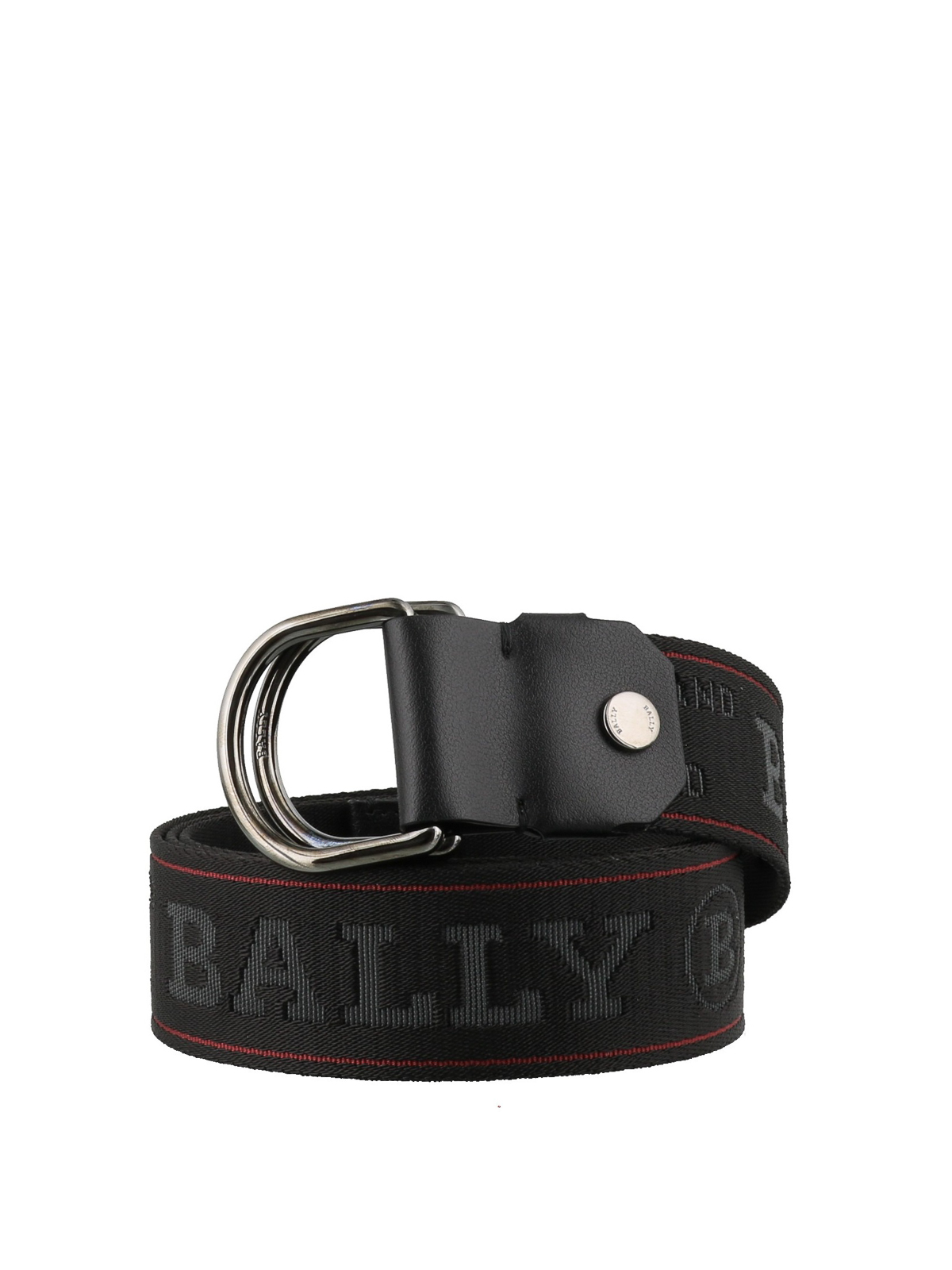 Bally Copper fabric belt