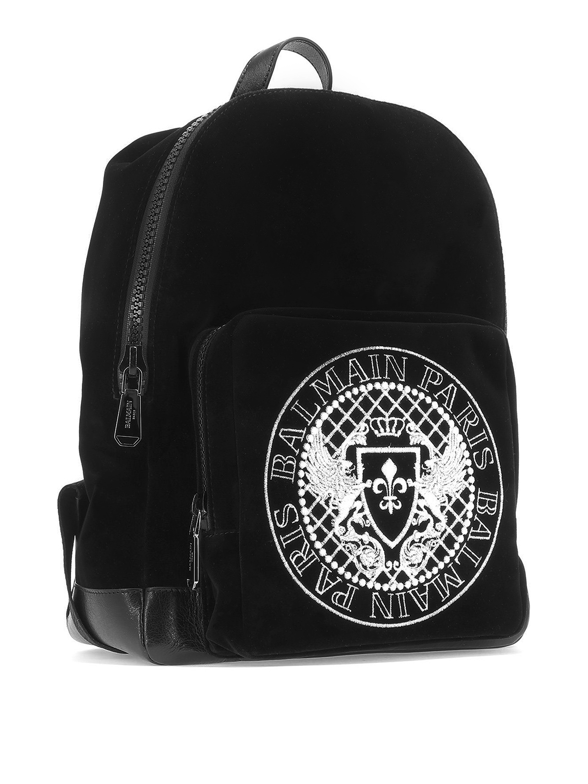 buy good on feet shots of lowest discount Balmain - Sac À Dos - Noir - Sacs à dos - W8HS142PVGM ...