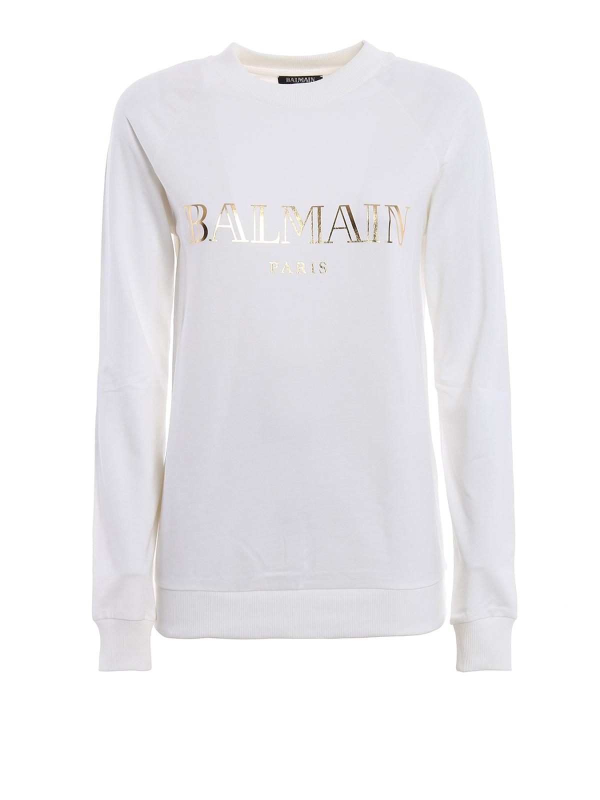Und Weiß Sweatshirt Balmain Sweatshirts Pullover SUzVGqpLM