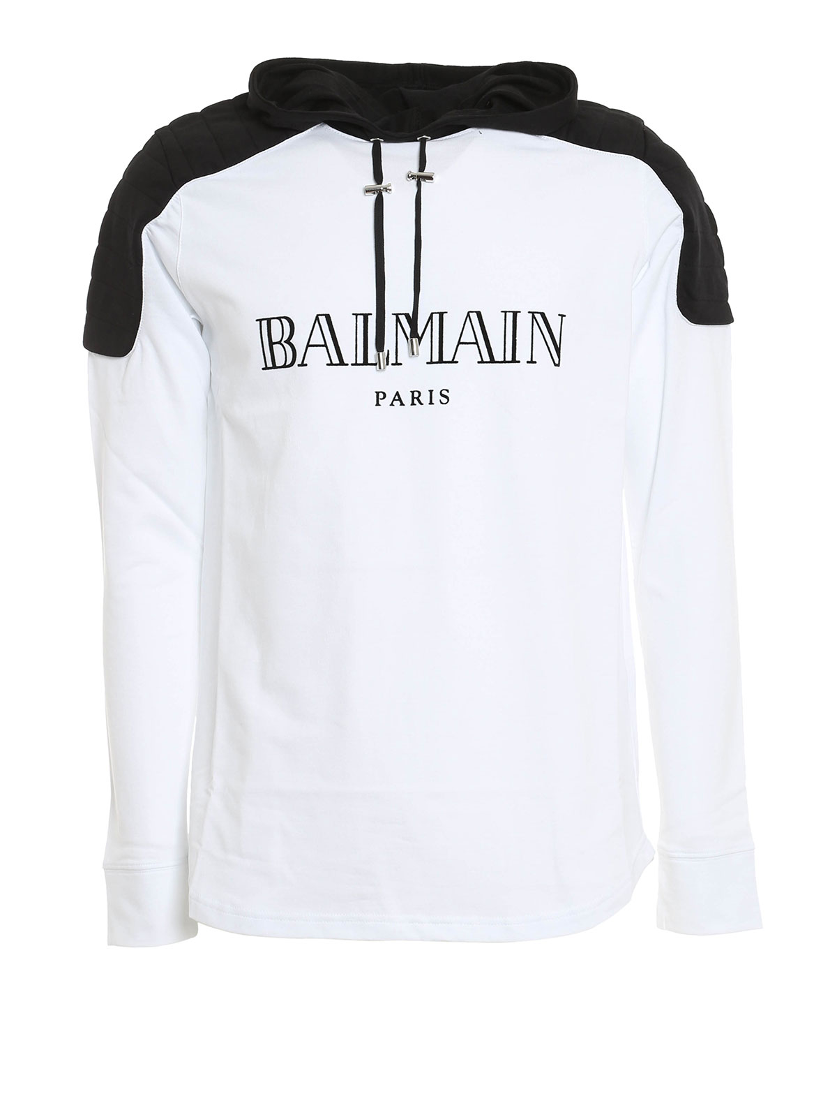 hooded t shirt by balmain t shirts ikrix. Black Bedroom Furniture Sets. Home Design Ideas