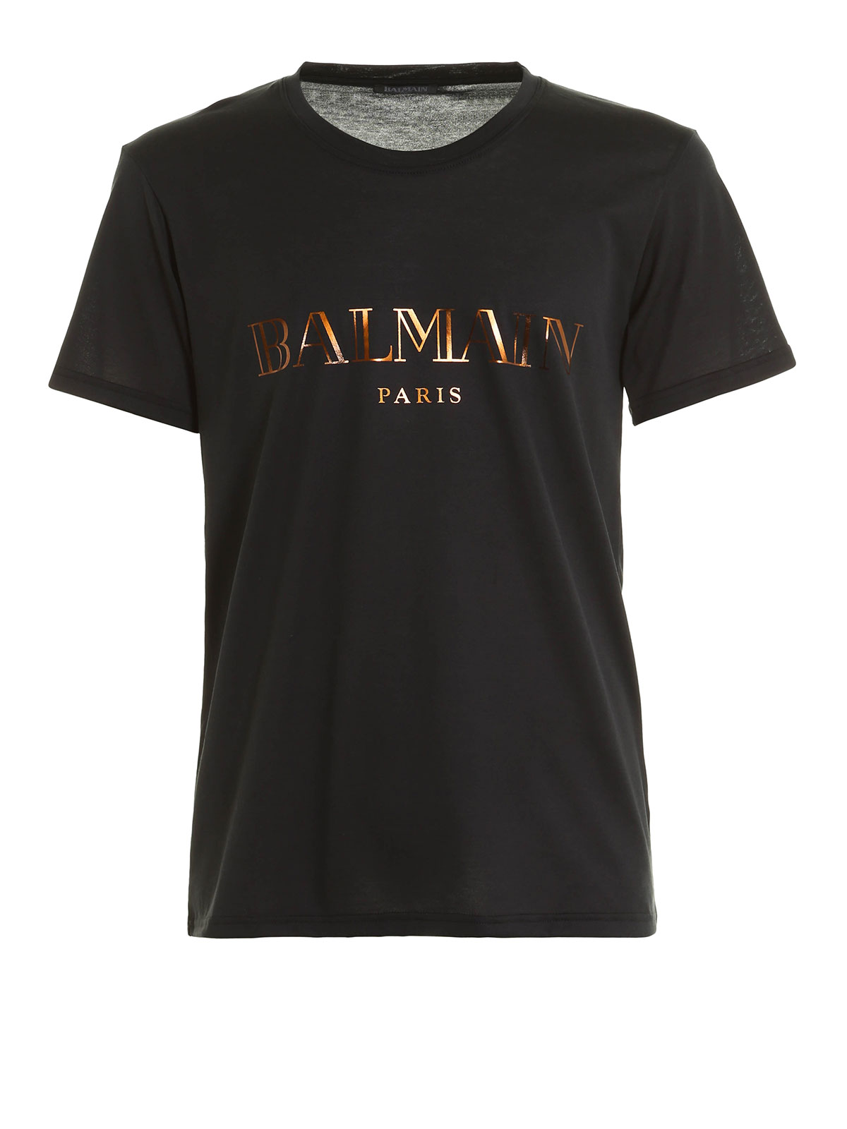 logo lettering jersey t shirt by balmain t shirts ikrix. Black Bedroom Furniture Sets. Home Design Ideas