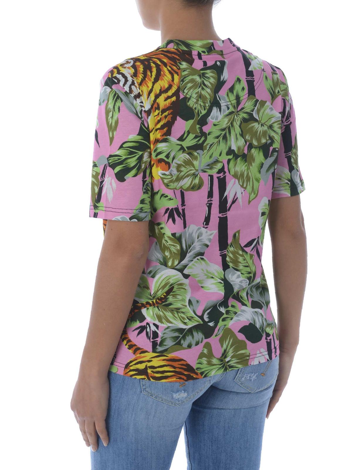0878fd7cb9 Kenzo - Bamboo Tiger T-shirt - t-shirts - F851TS745993 32 | iKRIX.com