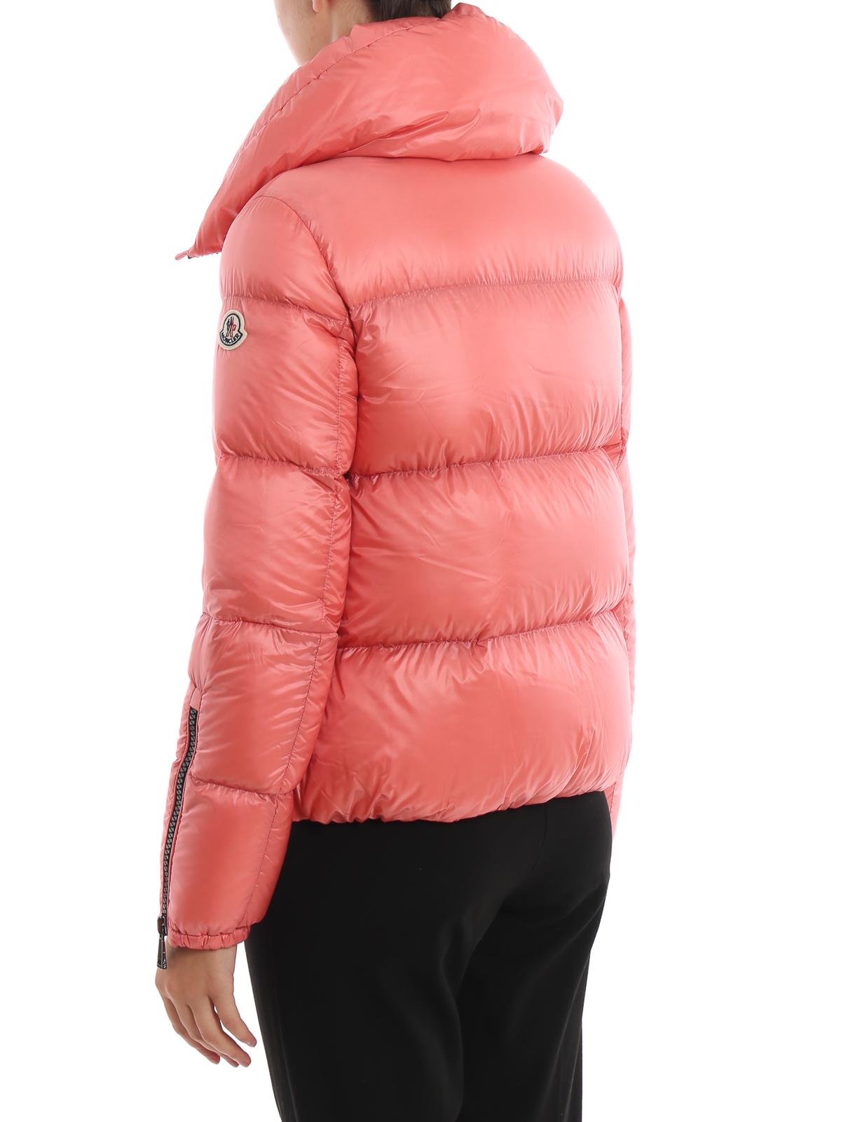 8c7756e17 Moncler - Bandama blush pink puffer jacket - padded jackets ...