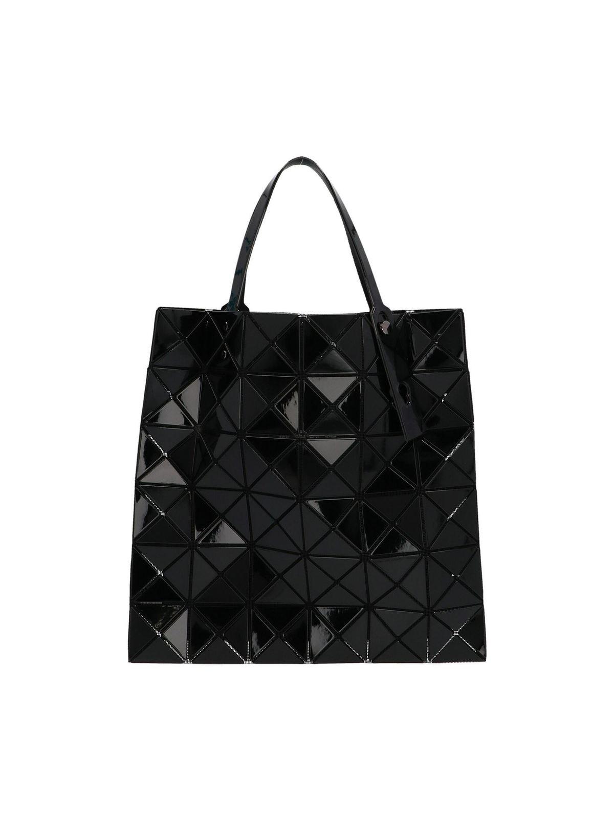 Bao Bao Issey Miyake Lucent Shopper Bag In Shiny Black
