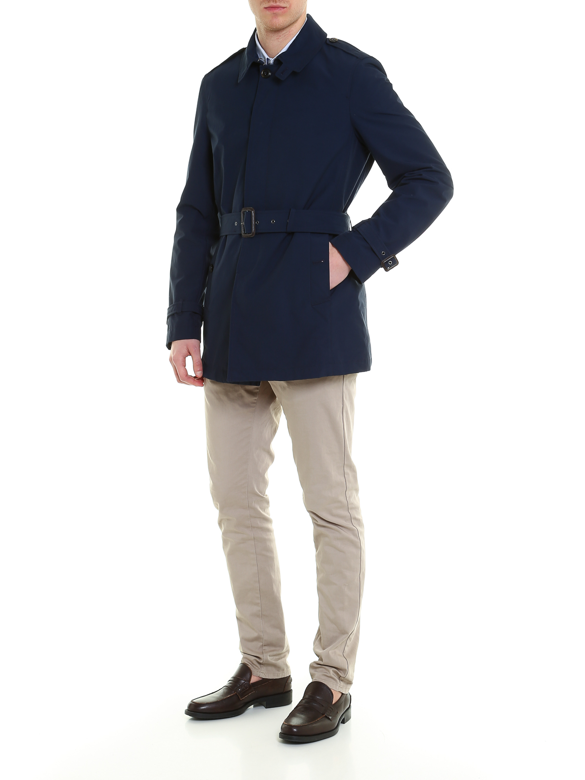 Coat Trenchs Brcps0191309 Pour Homme Winster Trench Baracuta 3TFclK1J