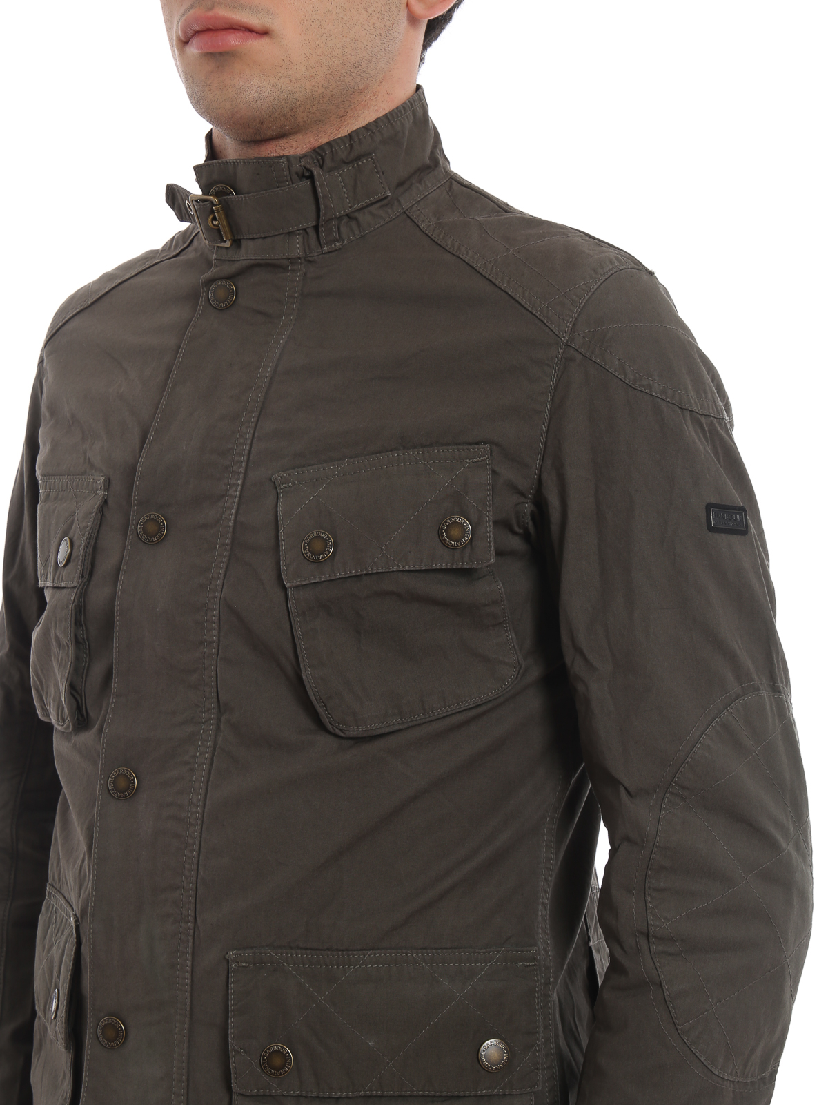 competitive price 5a263 061cd Barbour - Giacca Smokey in cotone - giacche casual ...
