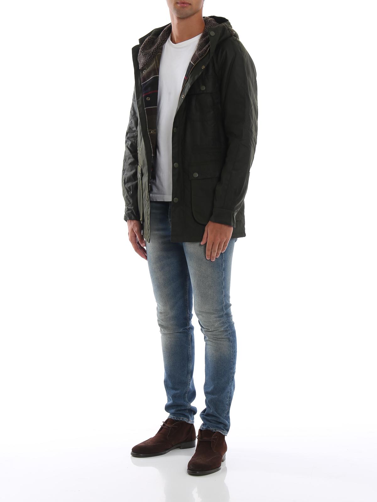 BARBOUR  casual jackets online - Brindle wax cotton jacket a0e72c7c4ad8