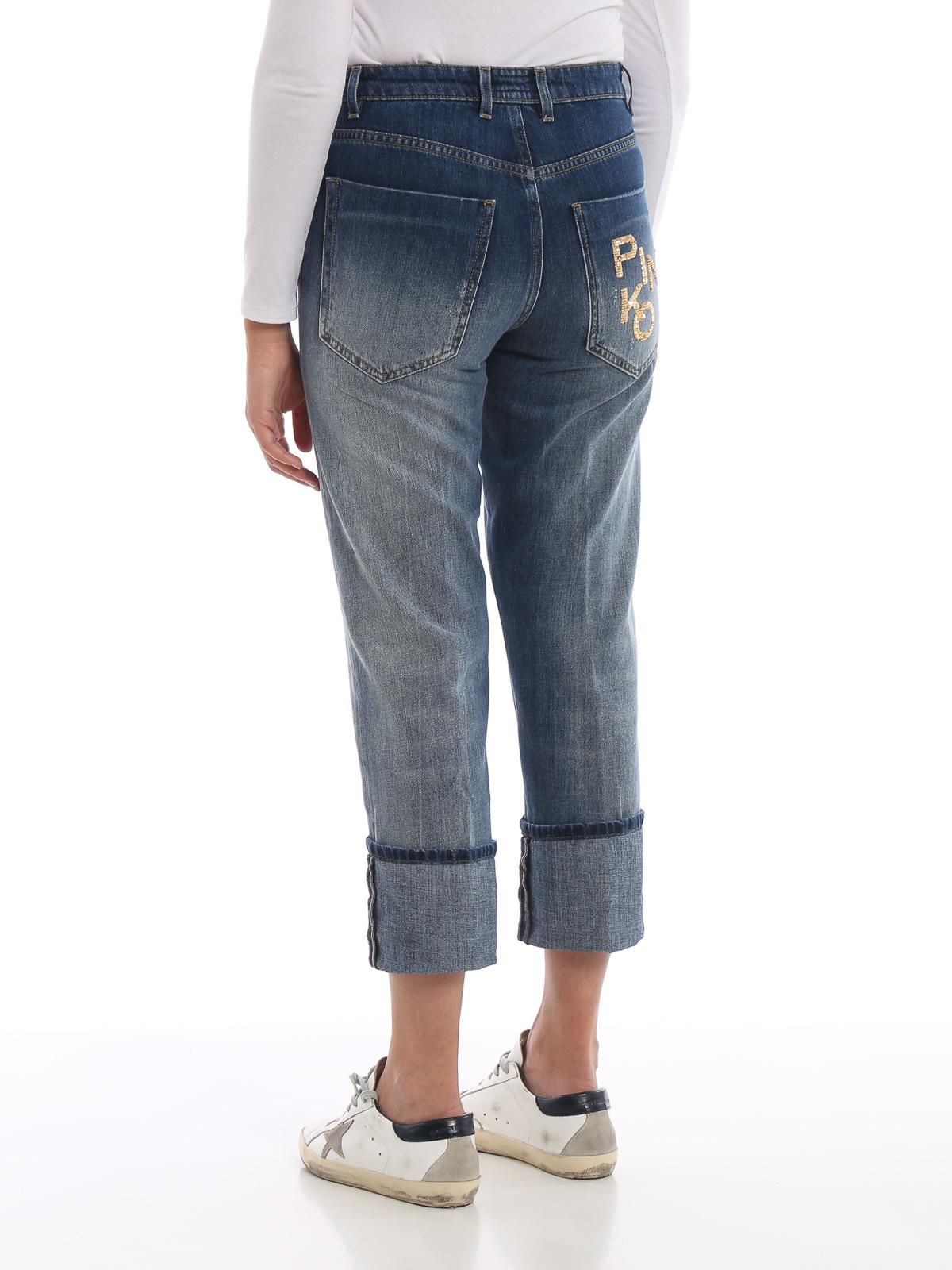 Pinko Jeans Boyfriend Donna