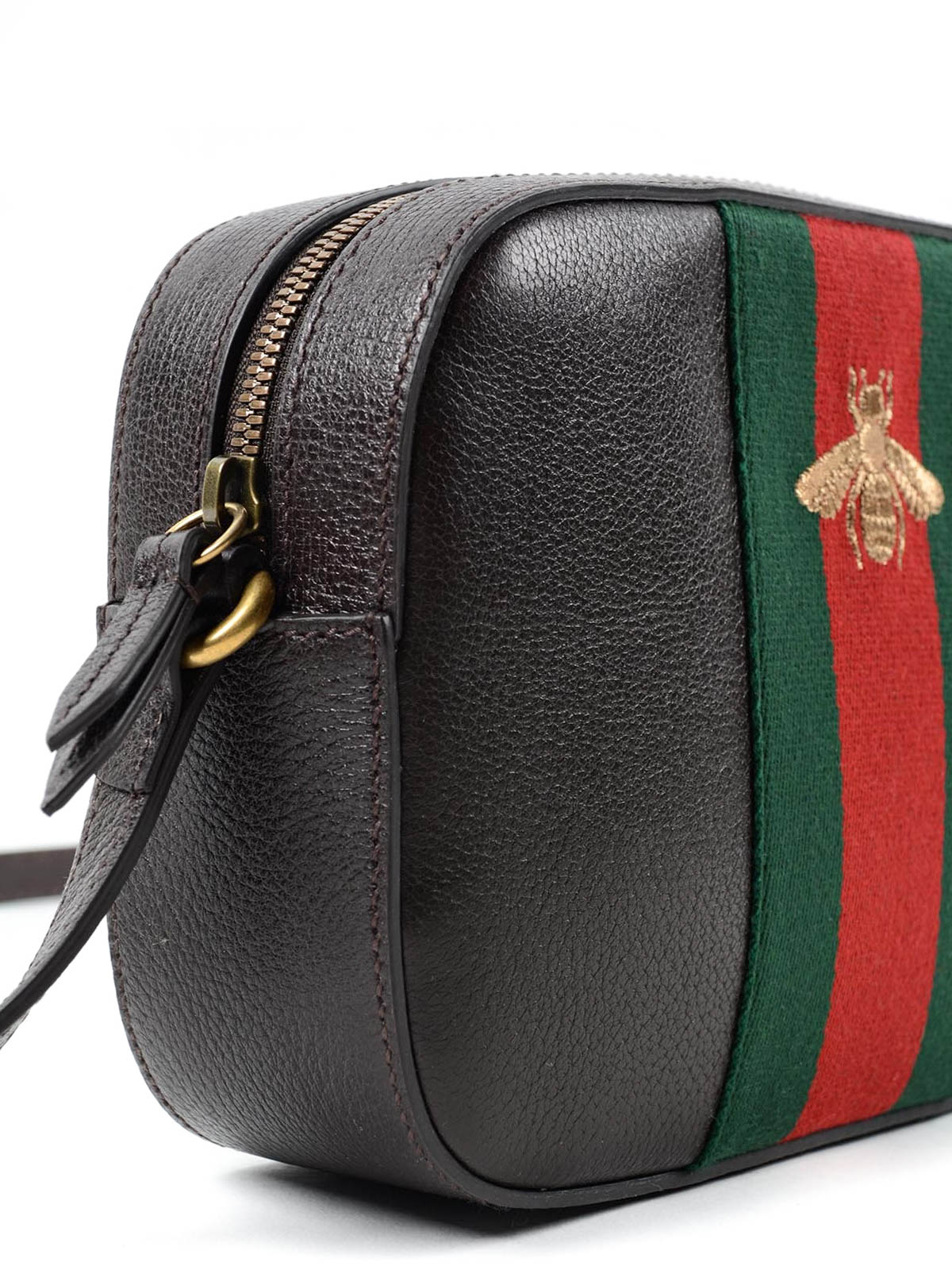 Gucci Bee Embroidered Crossbody Bag Confederated Tribes Of The