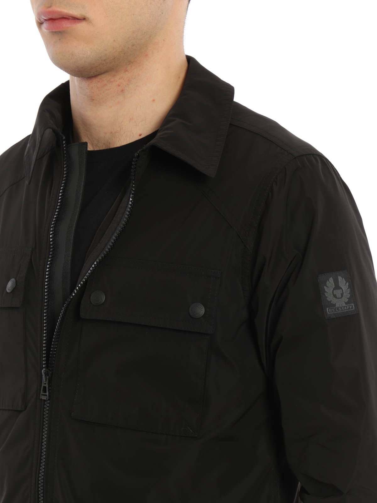 cca8a746667 Belstaff - Shawbury shirt style light jacket - casual jackets ...