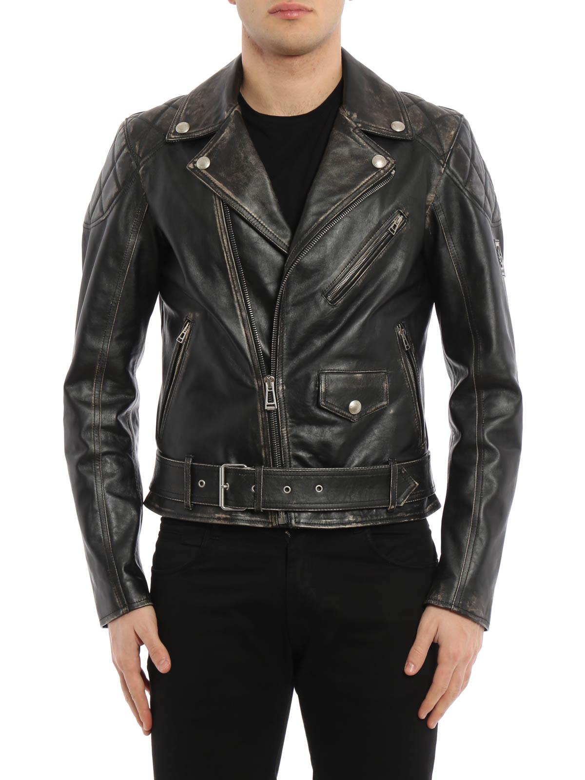 Manteau 71020503 Vestes En en Cuir cuir Arlingham Belstaff Oqd0wO