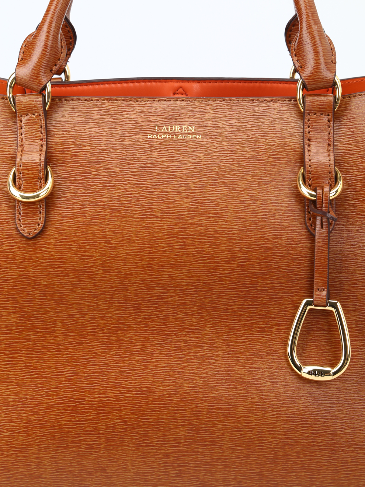 Ralph Lauren Borsa a spalla Bennington color cuoio borse