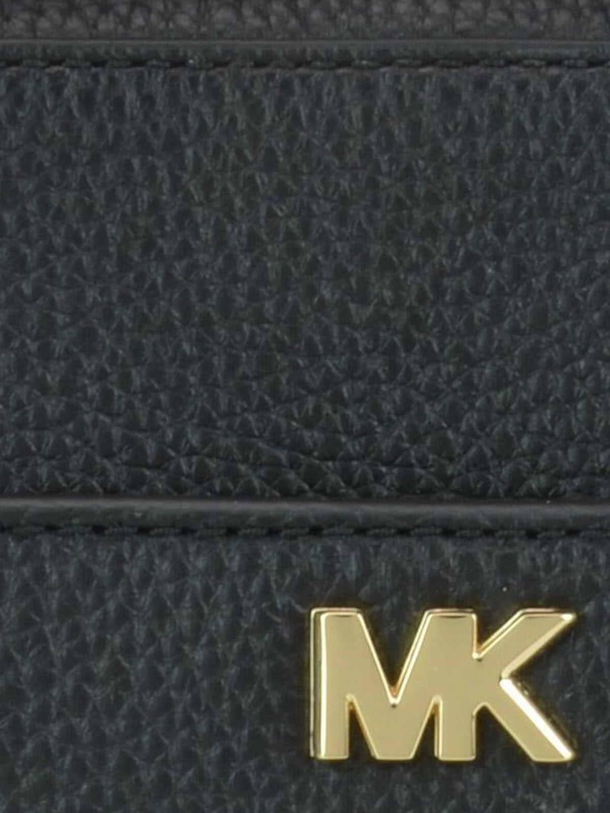 235308385114 Michael Kors - Black grained leather briefcase style bag - cross ...