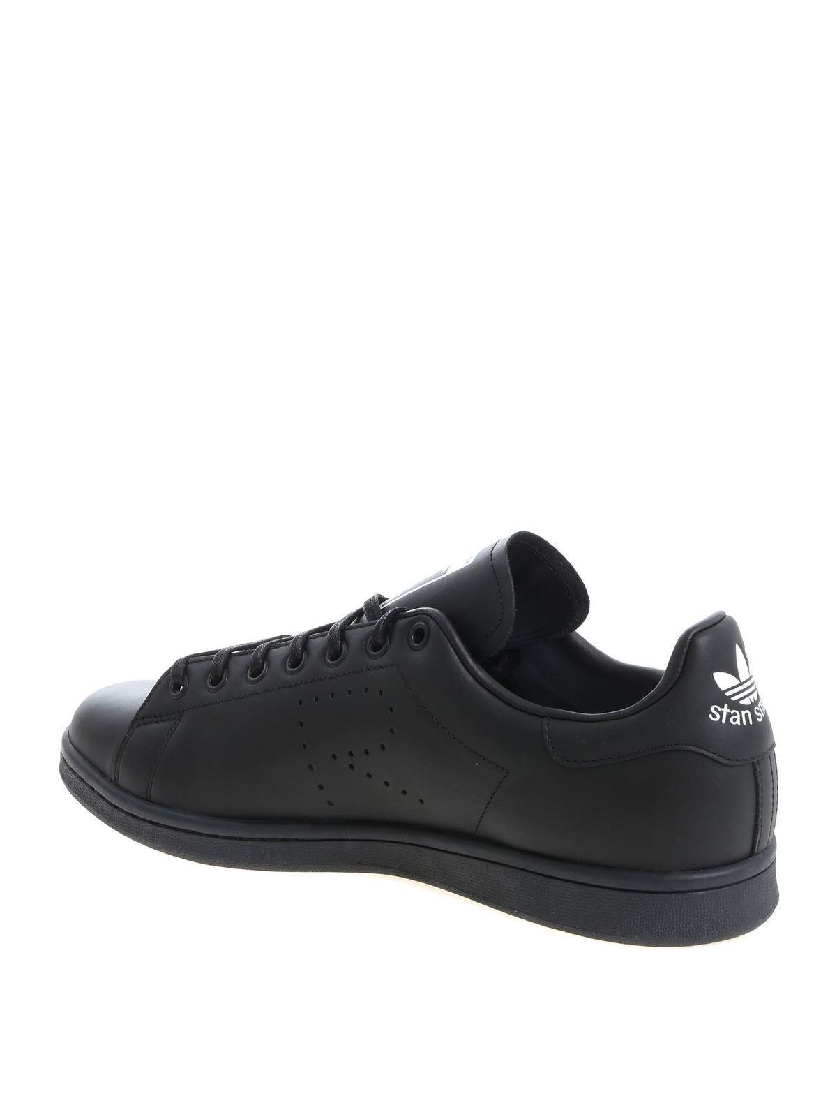 raf simons adidas black