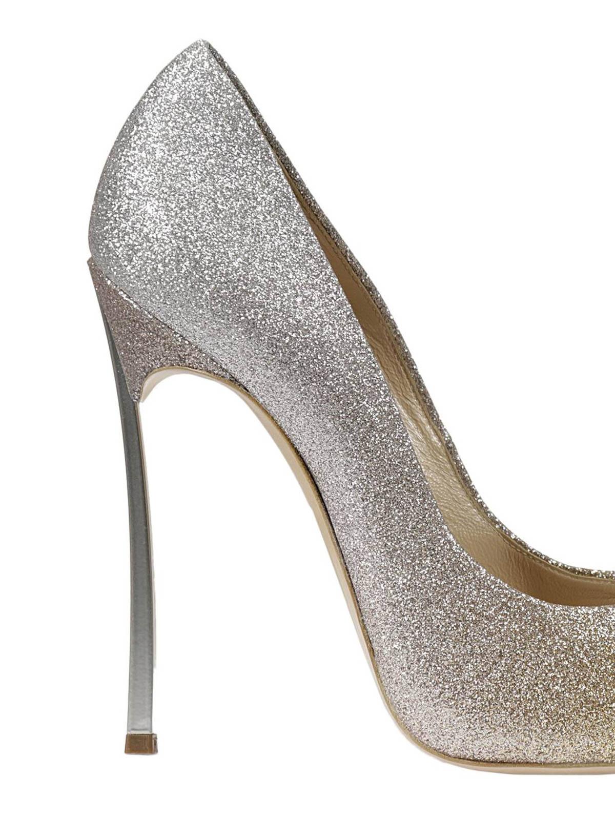 Casadei - Blade glitter court shoes