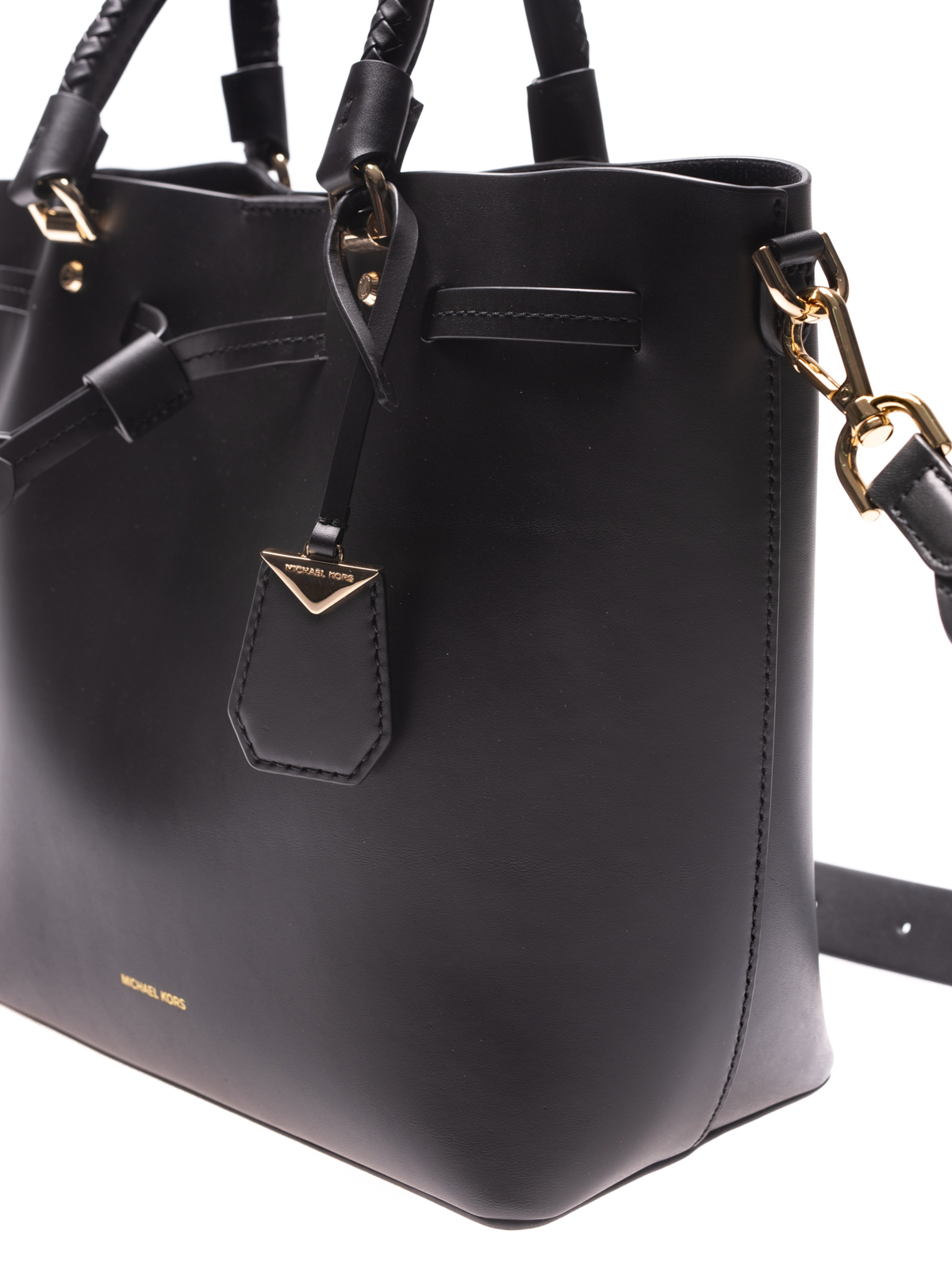 9c5f1253de4e Michael Kors - Blakely black medium bucket bag - Bucket bags ...