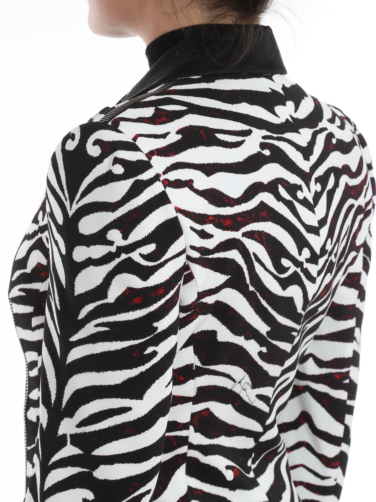 John Richmond - Zebra print blazer - blazers - 152F2 1051 ...