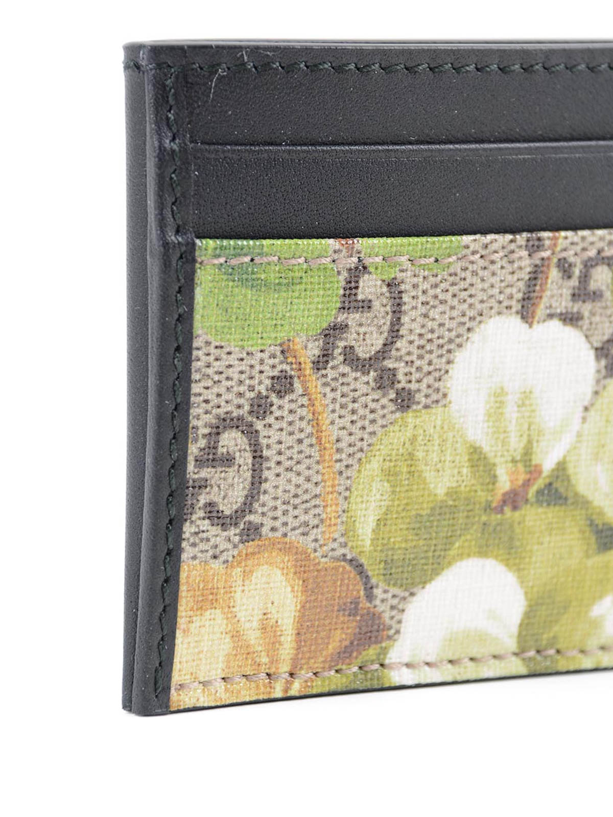 Blooms print card holder by Gucci - wallets & purses   iKRIX