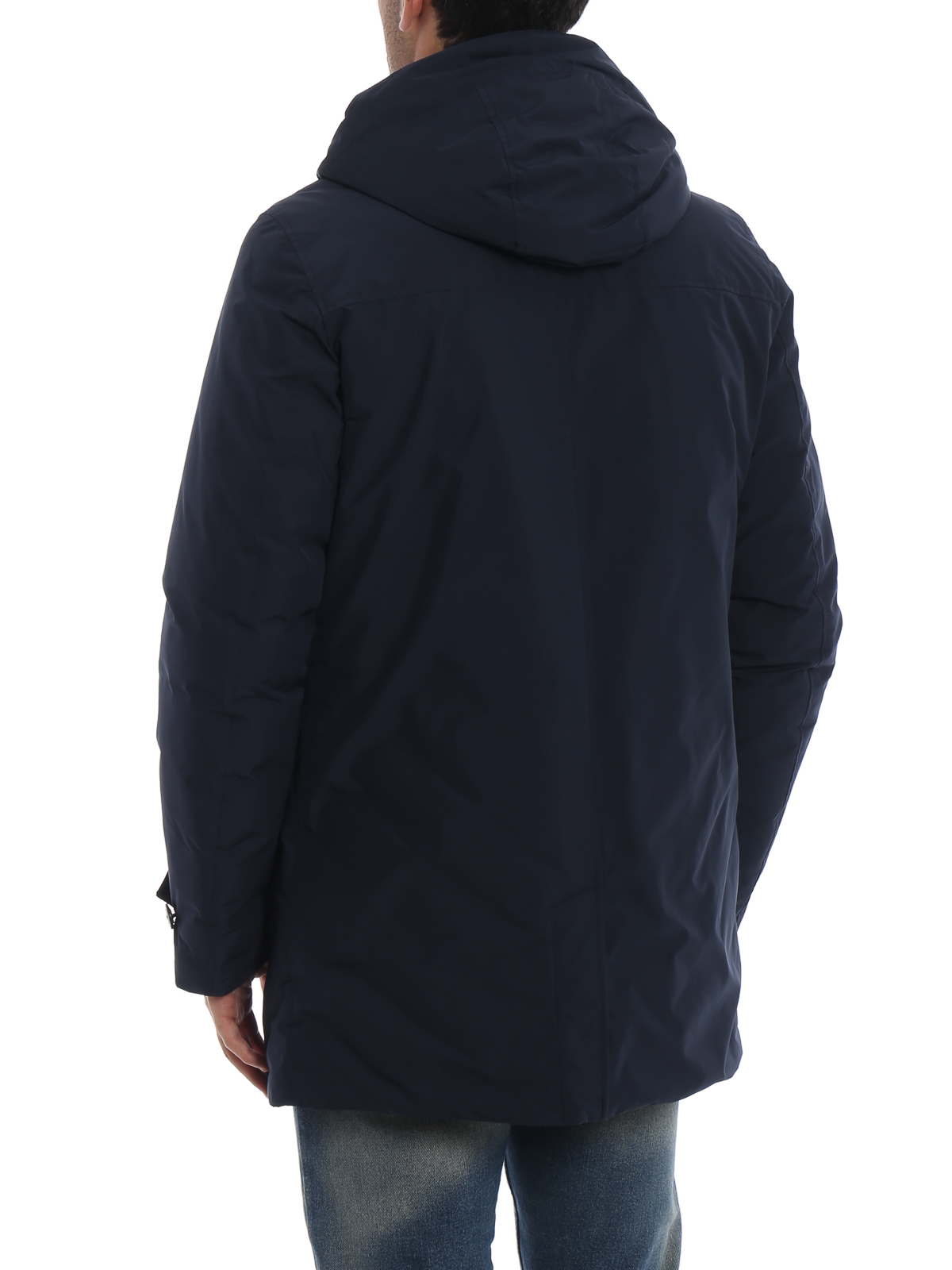 Woolrich Blue down padded City short coat Official Reliable Cheap Sale Nicekicks yJqTS34