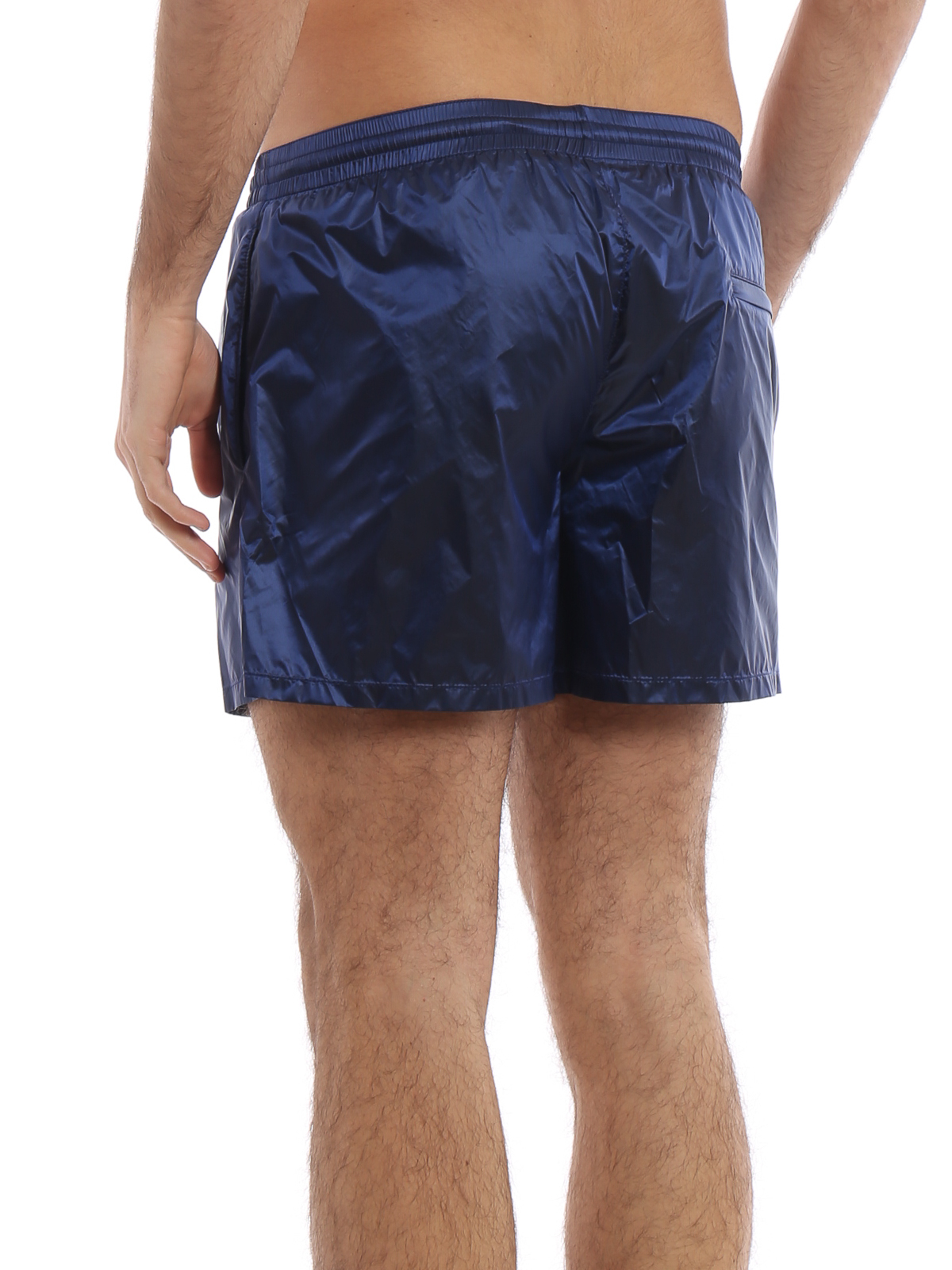 3702bbc07d Prada - Blue microristop nylon swim shorts - Swim shorts & swimming ...