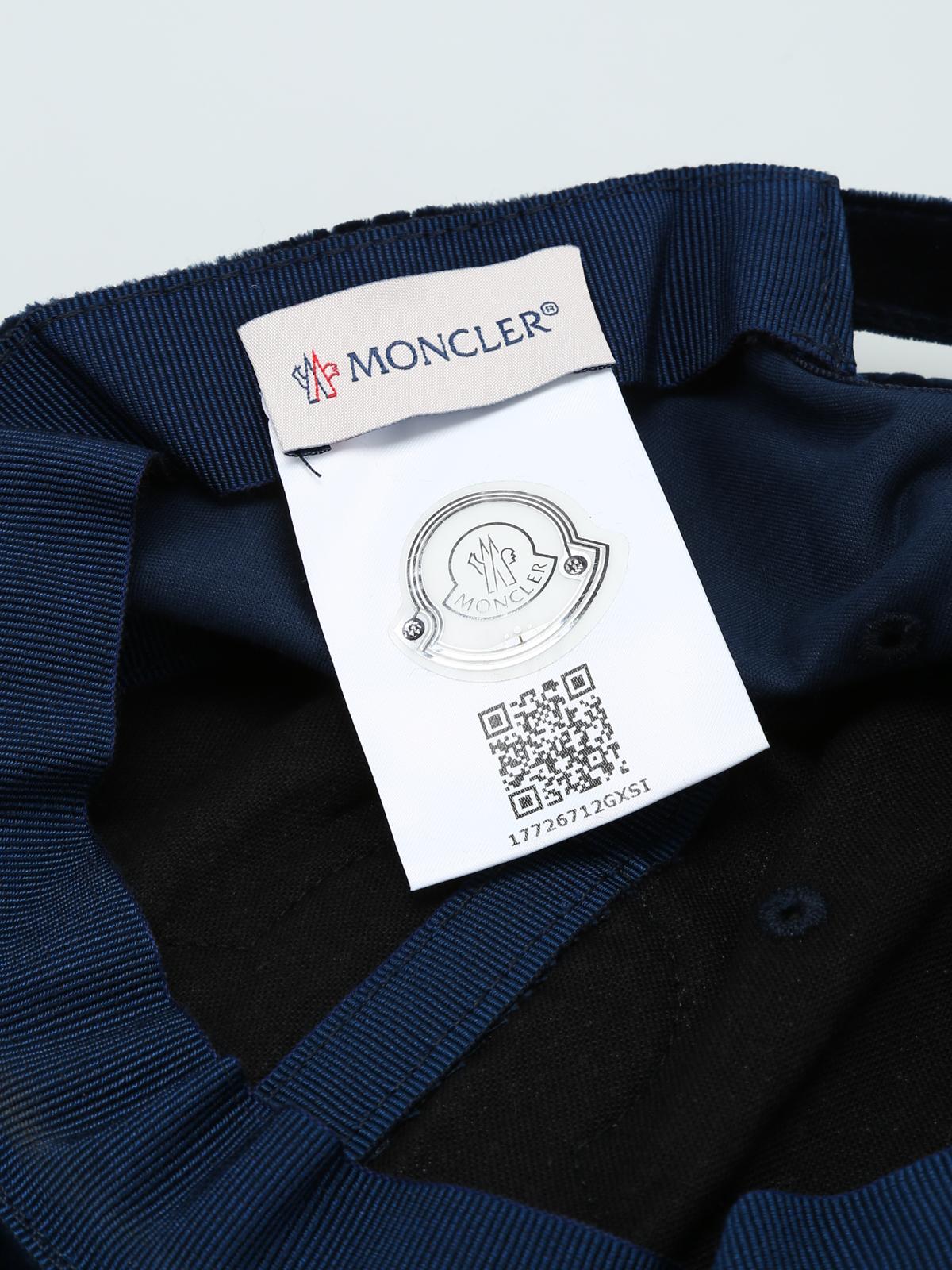 moncler blue velvet