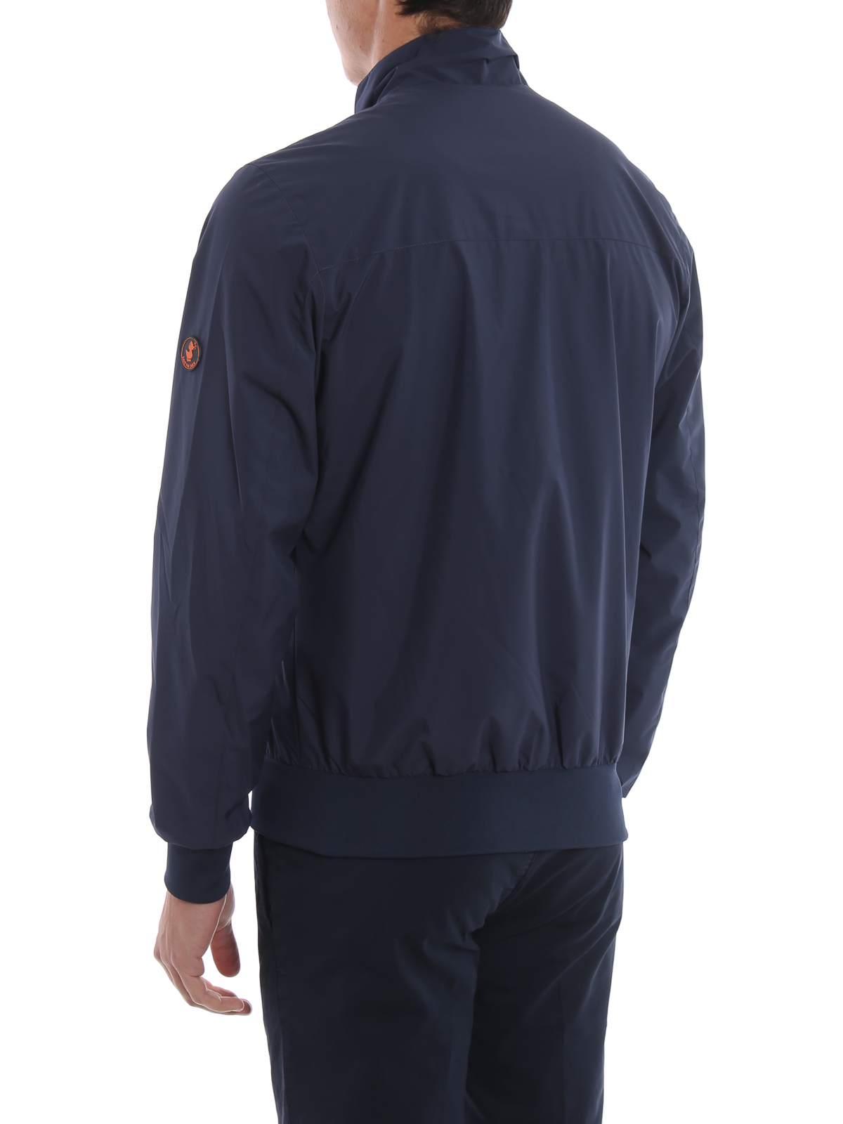 Save The Duck Mens D3519MMATY800009 Blue Polyester Outerwear Jacket