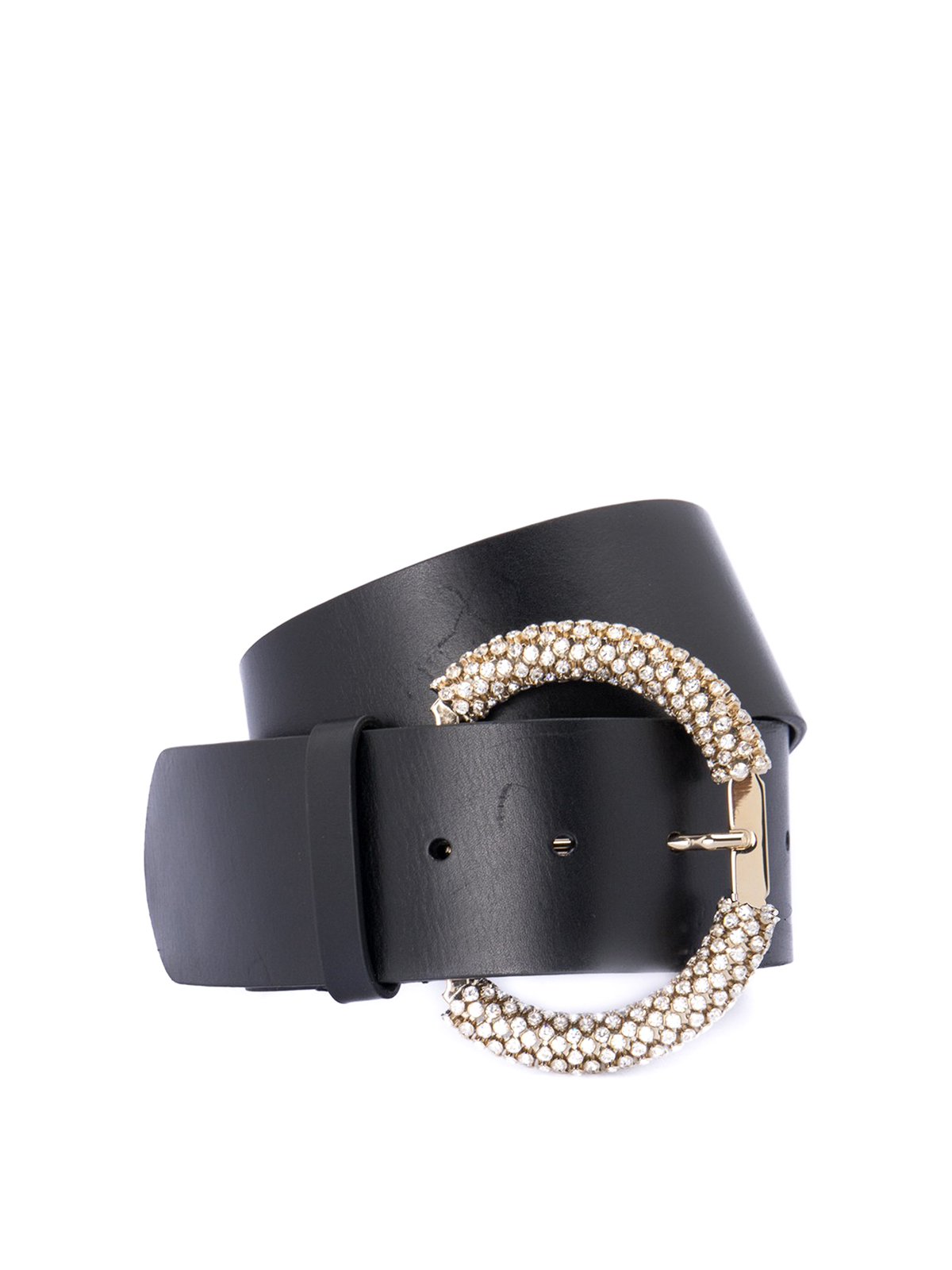 Blumarine JEWEL BUCKLE BELT