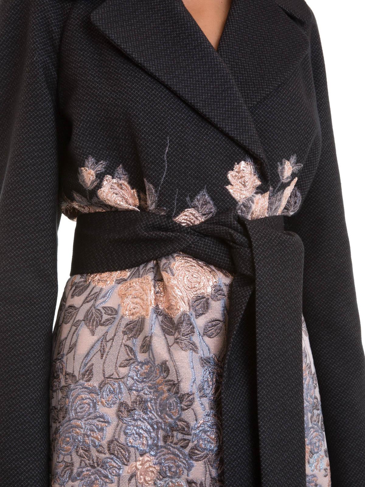 fe0948e9c0beb Blumarine - Manteau Au Genoux Teint Pour Femme - Manteaux au genou ...