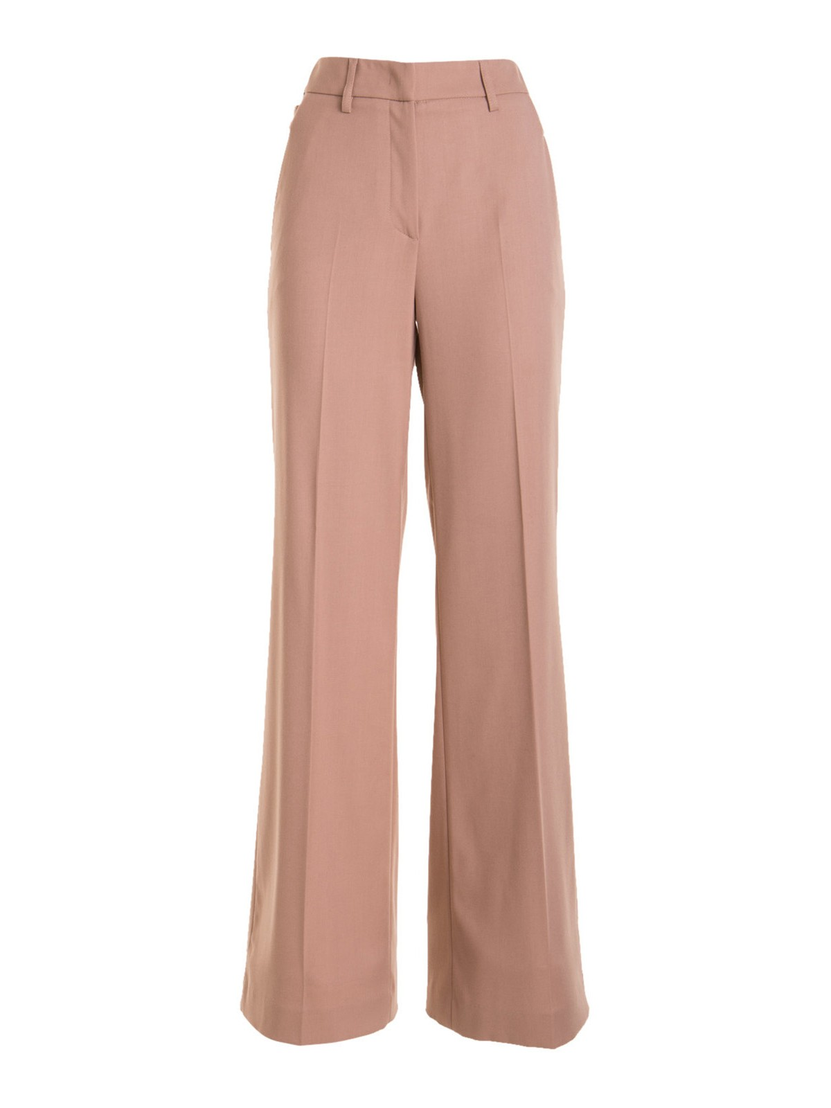 Blumarine GOLDEN BUTTON TROUSERS