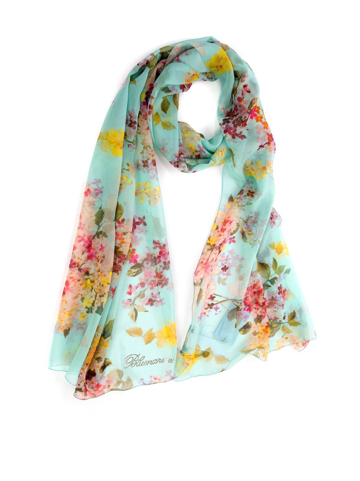 floral print scarf by blumarine scarves ikrix
