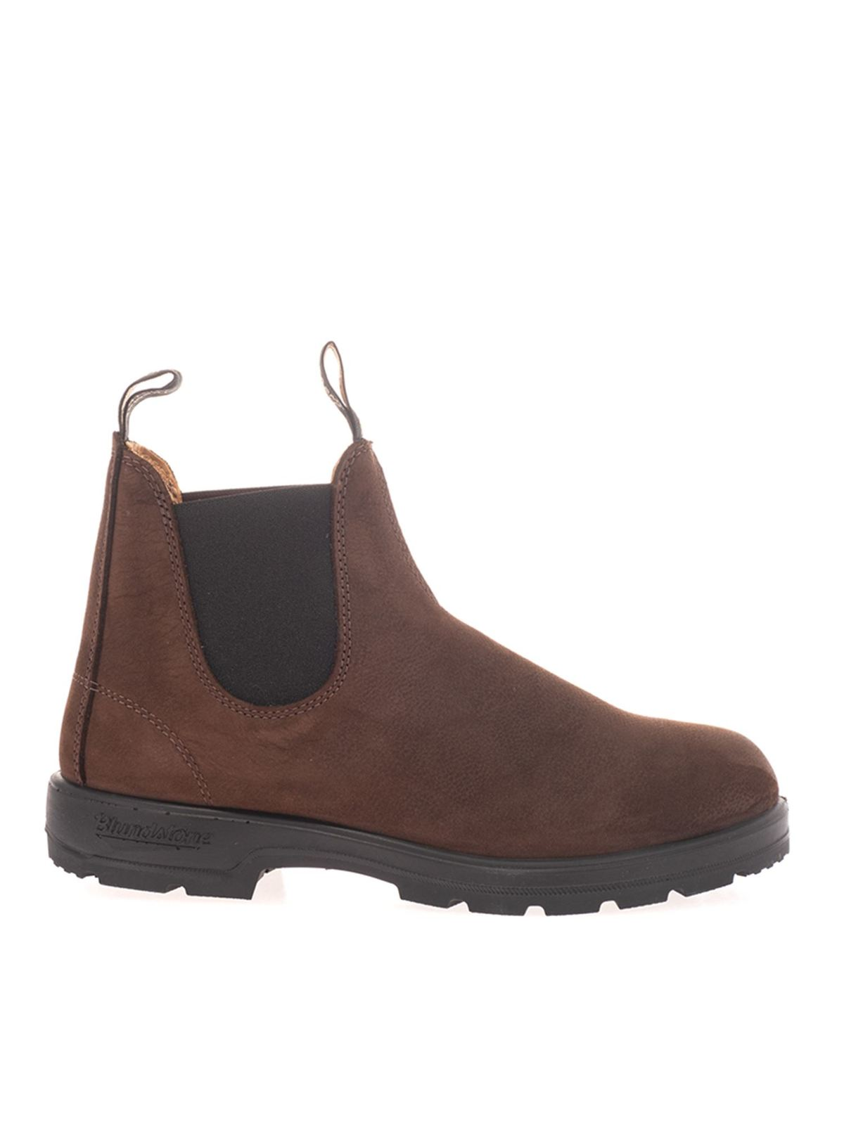 Blundstone Ankle highs SUEDE ANKLE BOOTS IN BROWN