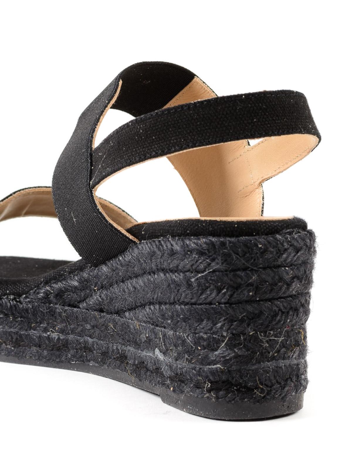2c4243e4b6b Bonsai black sandal espadrilles shop online  CASTANER