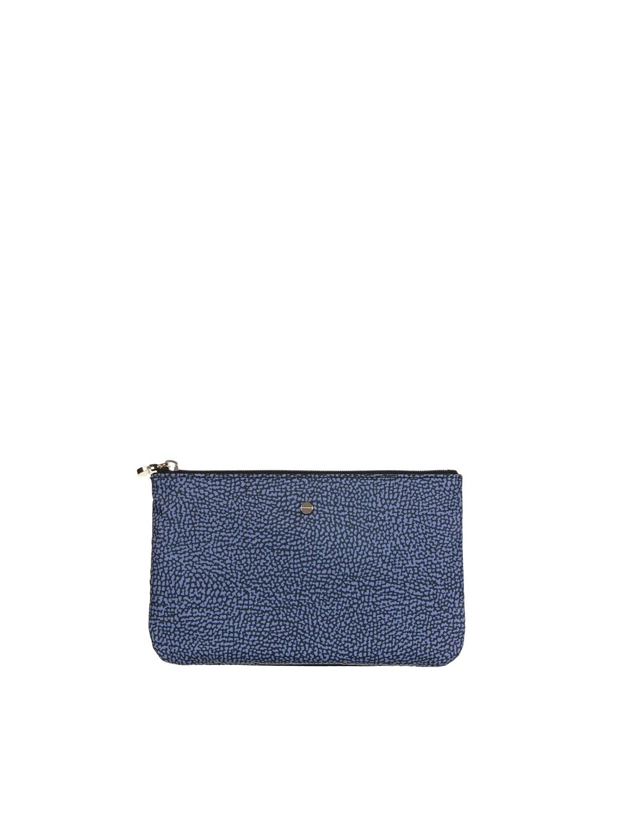 Borbonese OP POUCH IN BLUE