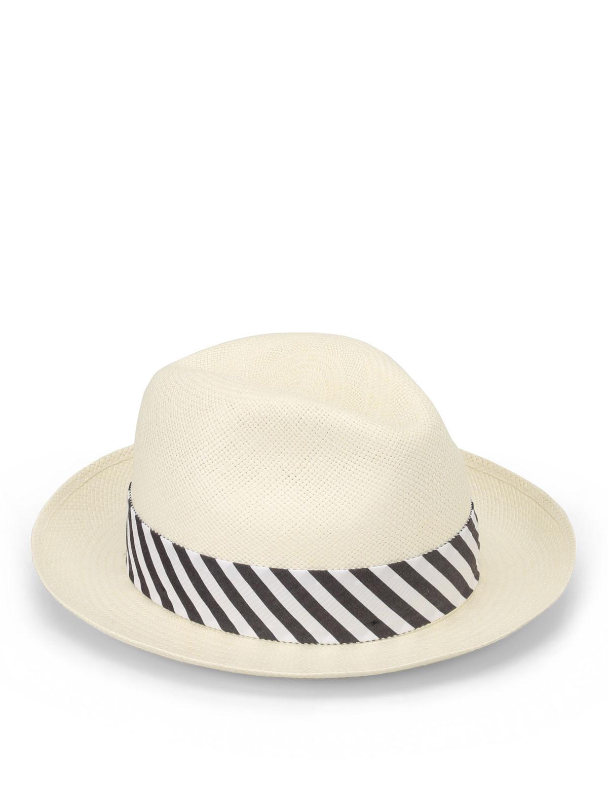 Borsalino - Panama Quito Tie - cappelli - 1411217580  cf9de5725c3f