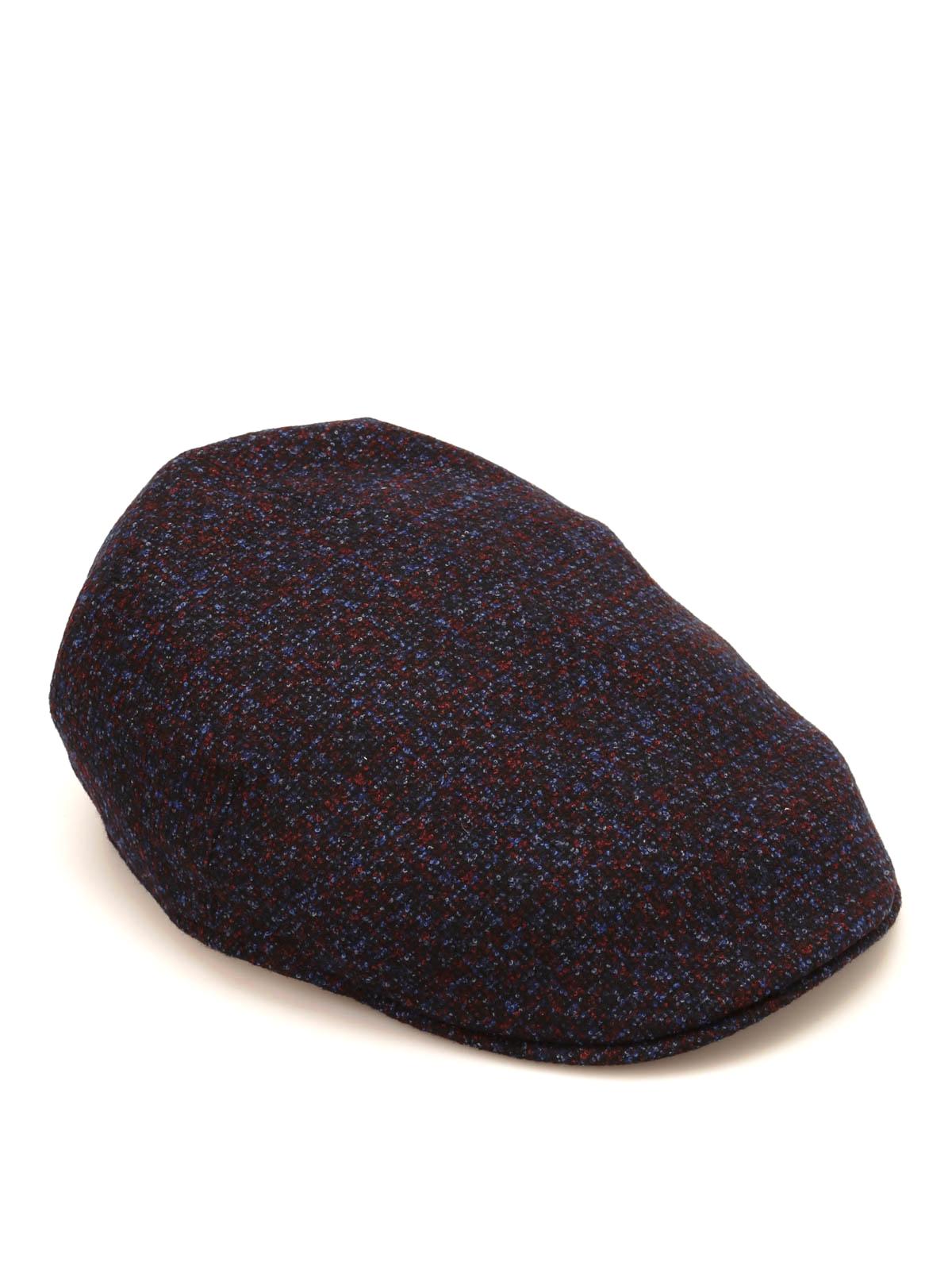 Borsalino - Berretto in lana seta e cashmere - cappelli - B12182 ... 9d1a32c5bfed
