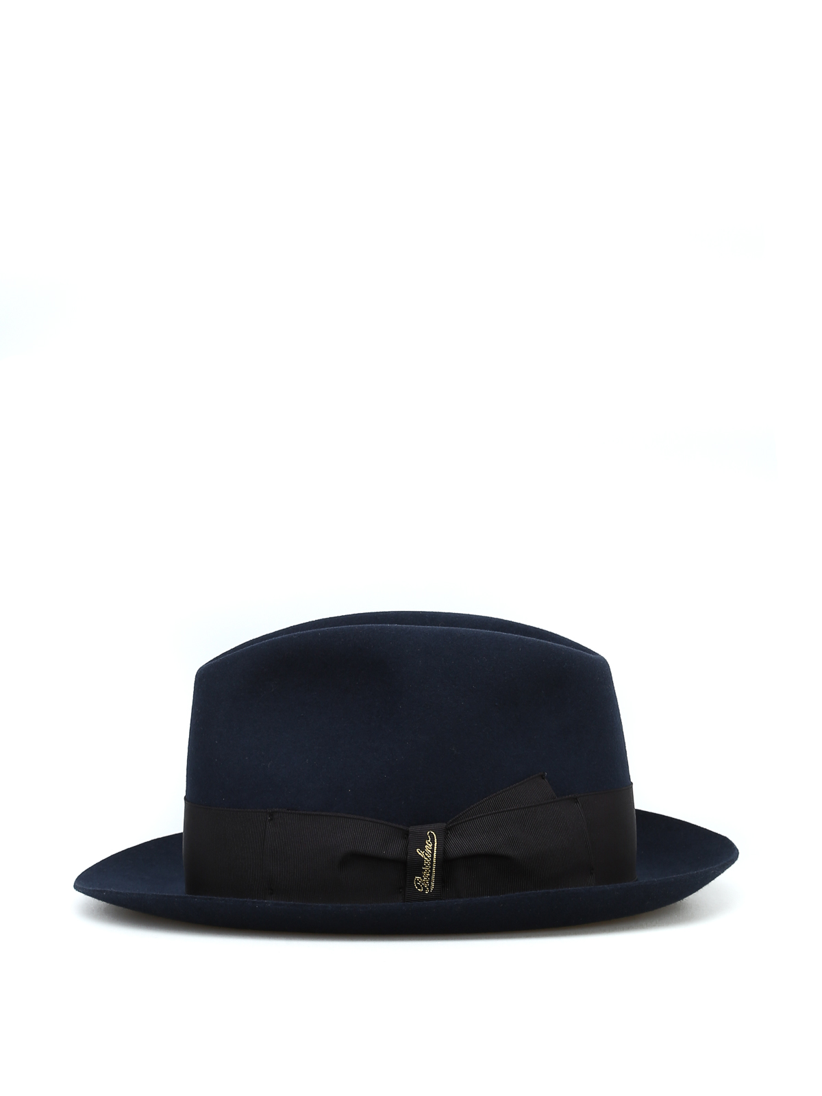 BORSALINO  hats   caps online - Alessandria grosgrain band blue felt hat caeb0bbb212