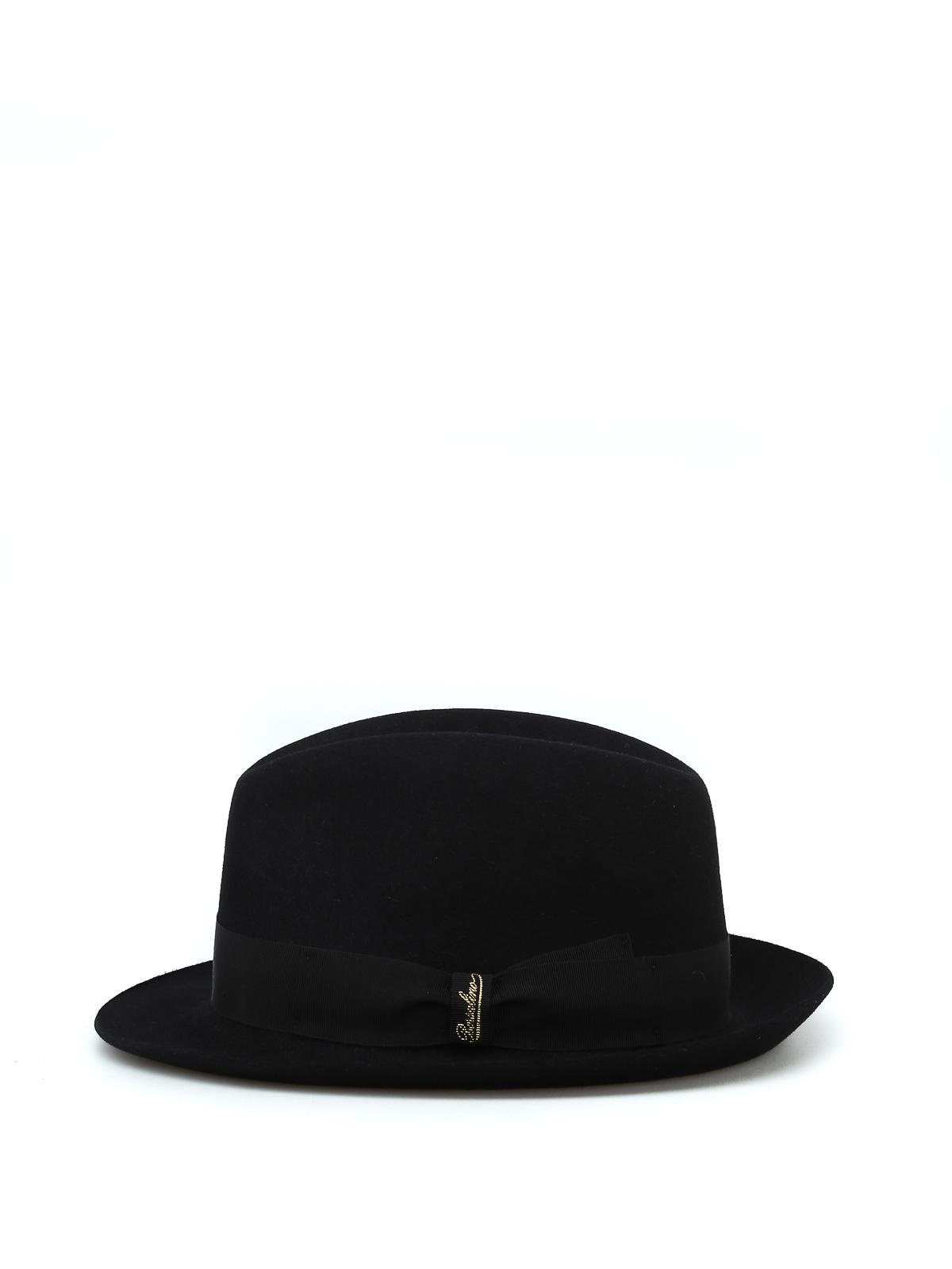 Borsalino - Sombrero - Negro - Sombreros - 1602220421 c15efa81e85
