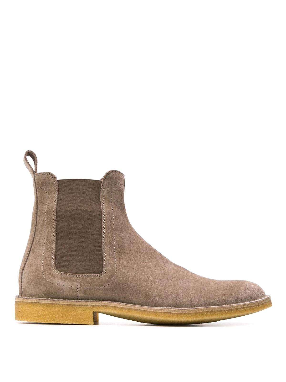f870f184893ea Bottega Veneta - Suede Chelsea boots - ankle boots - 312345VQ7802304