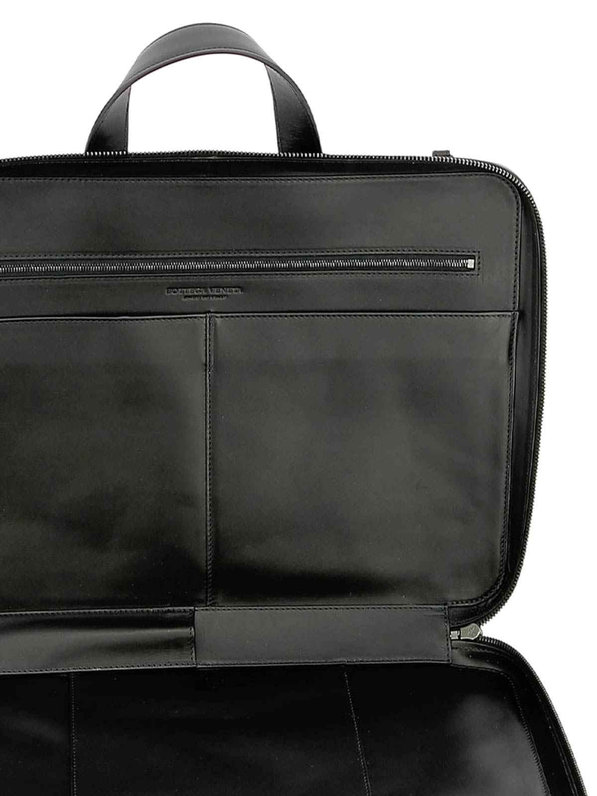 8bd8cd268f Bottega Veneta - Black Intrecciato VN Business bag - laptop bags ...