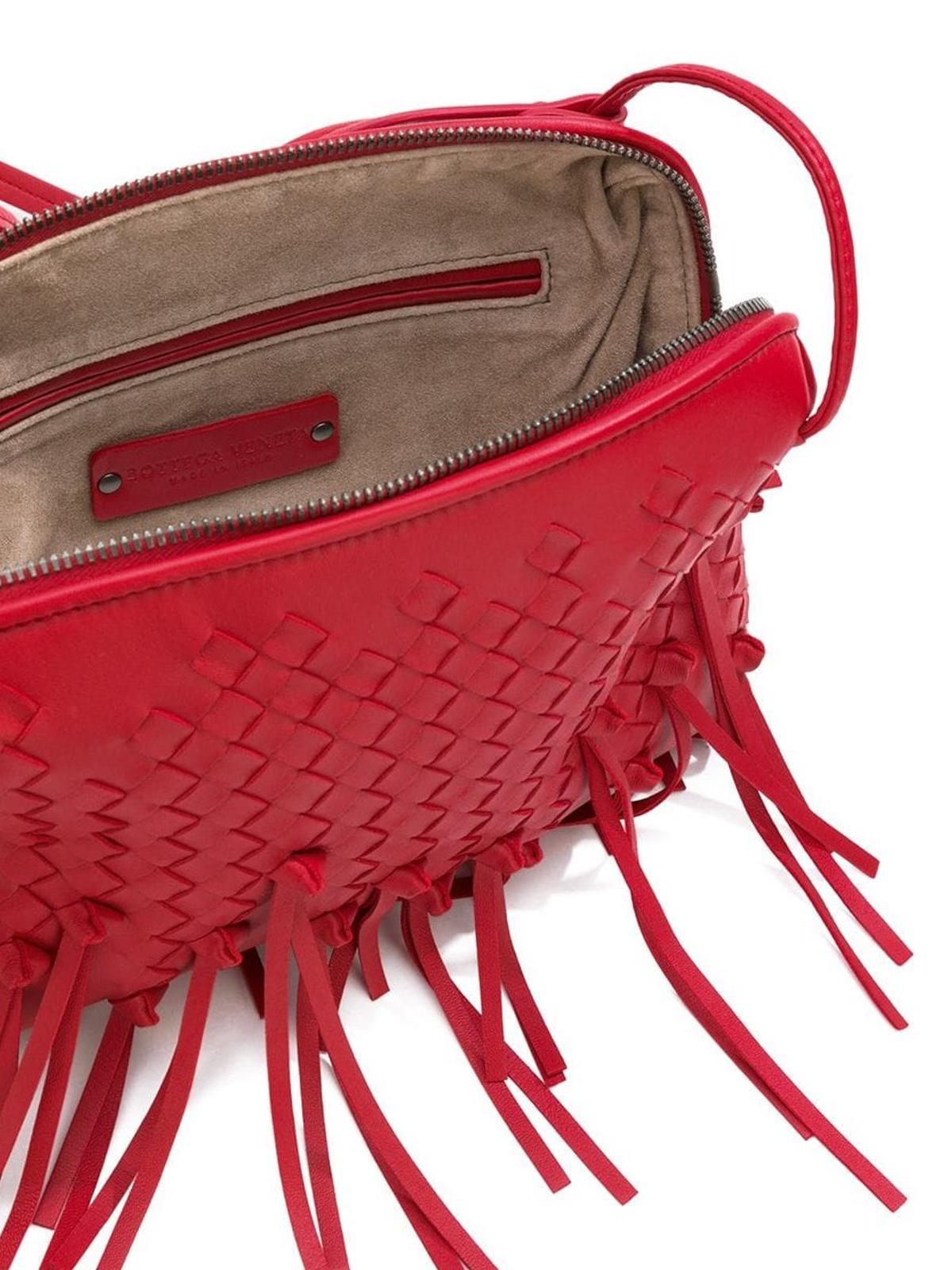 4607ef6dde ... BOTTEGA VENETA buy online Nodini China Red Intrecciato Nodini bag