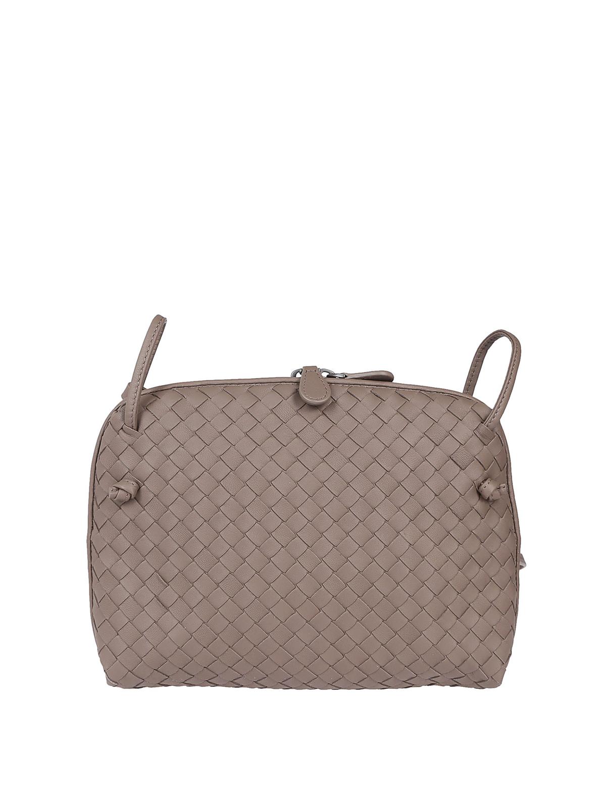 2db8f5f49275 BOTTEGA VENETA  cross body bags - Nodini intrecciato nappa cross body bag