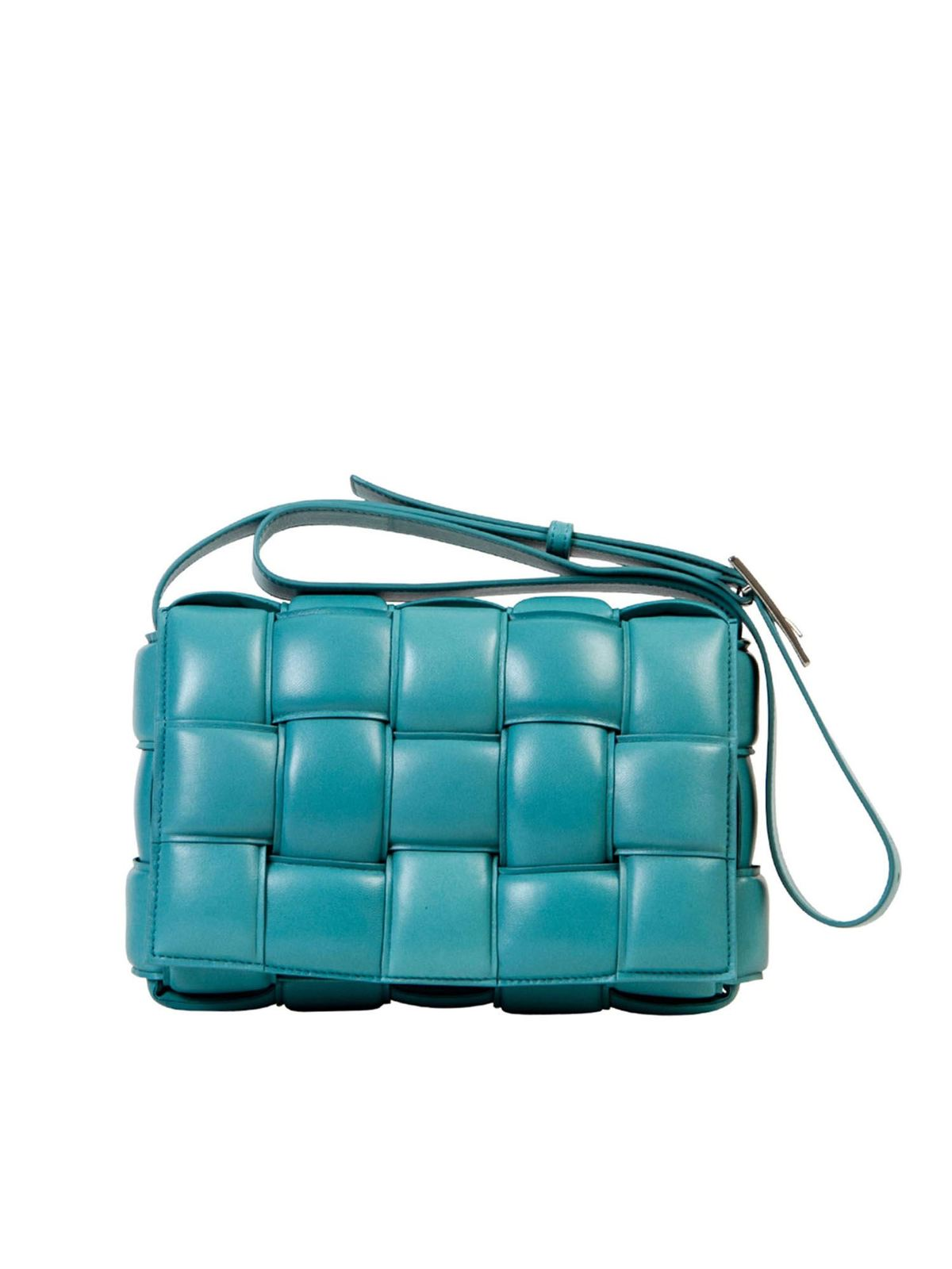 BOTTEGA VENETA PADDED CASSETTE BAG IN LINOLEUM COLOR