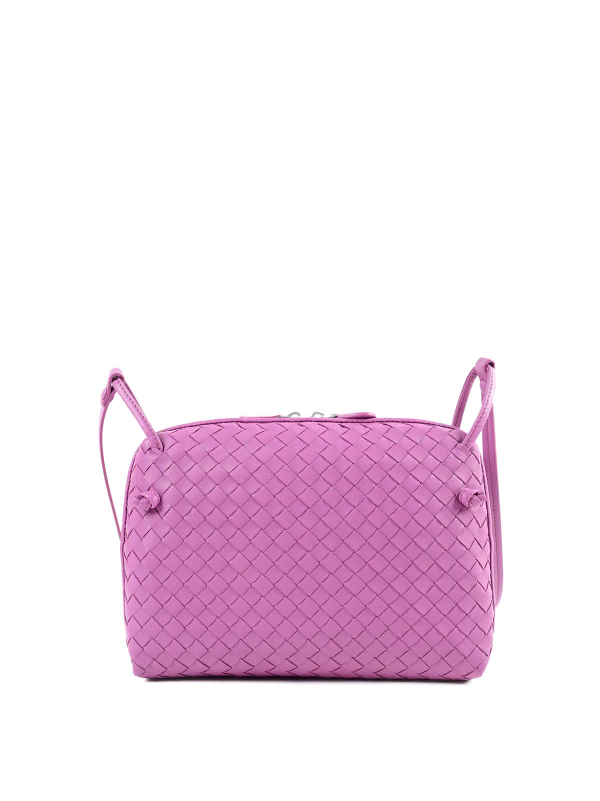 Bottega Veneta - Woven nappa cross body bag - cross body bags ... adedb2a184e1c