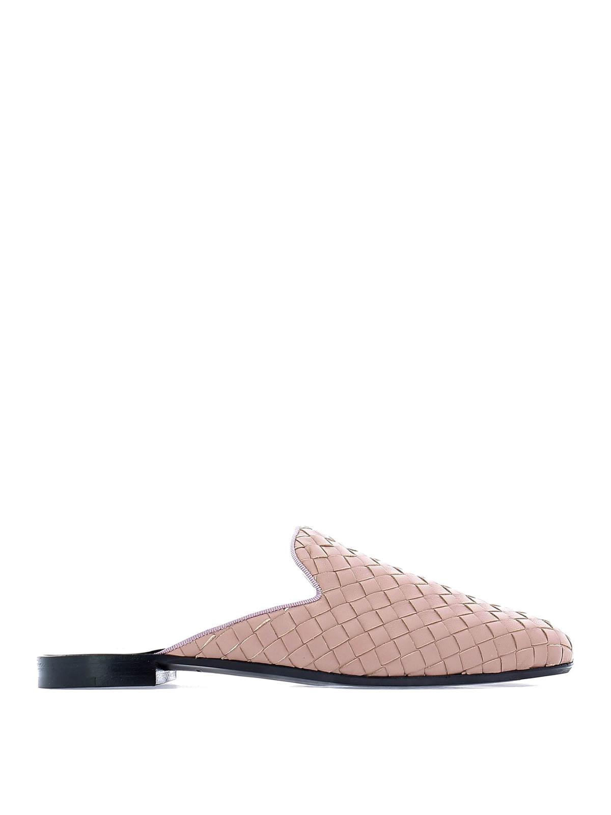 54a91fe07cc BOTTEGA VENETA  Loafers   Slippers - Fiandra Intrecciato nappa slippers