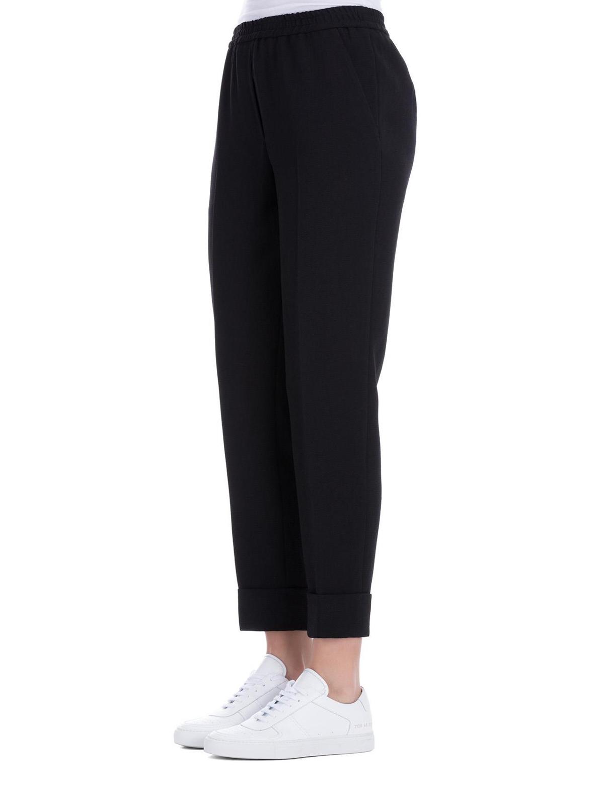 best price 100% quality latest fashion Bottega Veneta - Pantalons Décontractés - Noir - Pantalons ...
