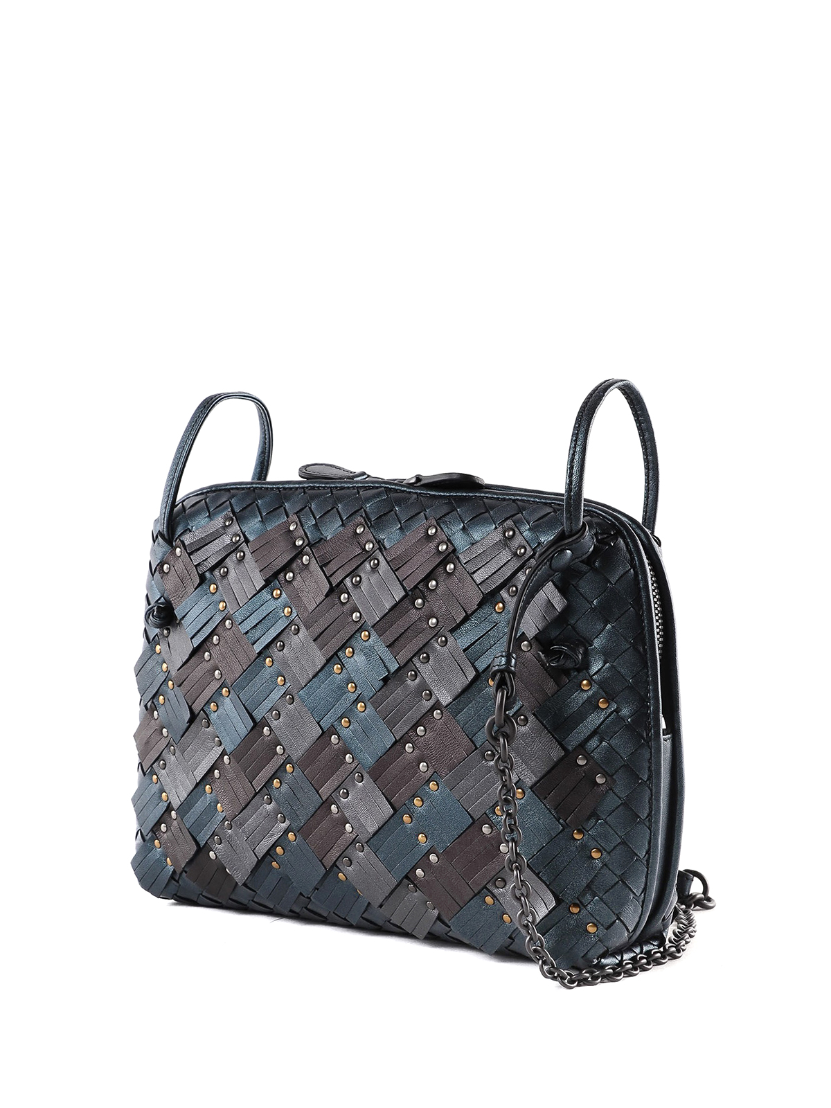 8e85833d4da32 BOTTEGA VENETA  cross body bags online - Nodini Intrecciato Plume nappa bag
