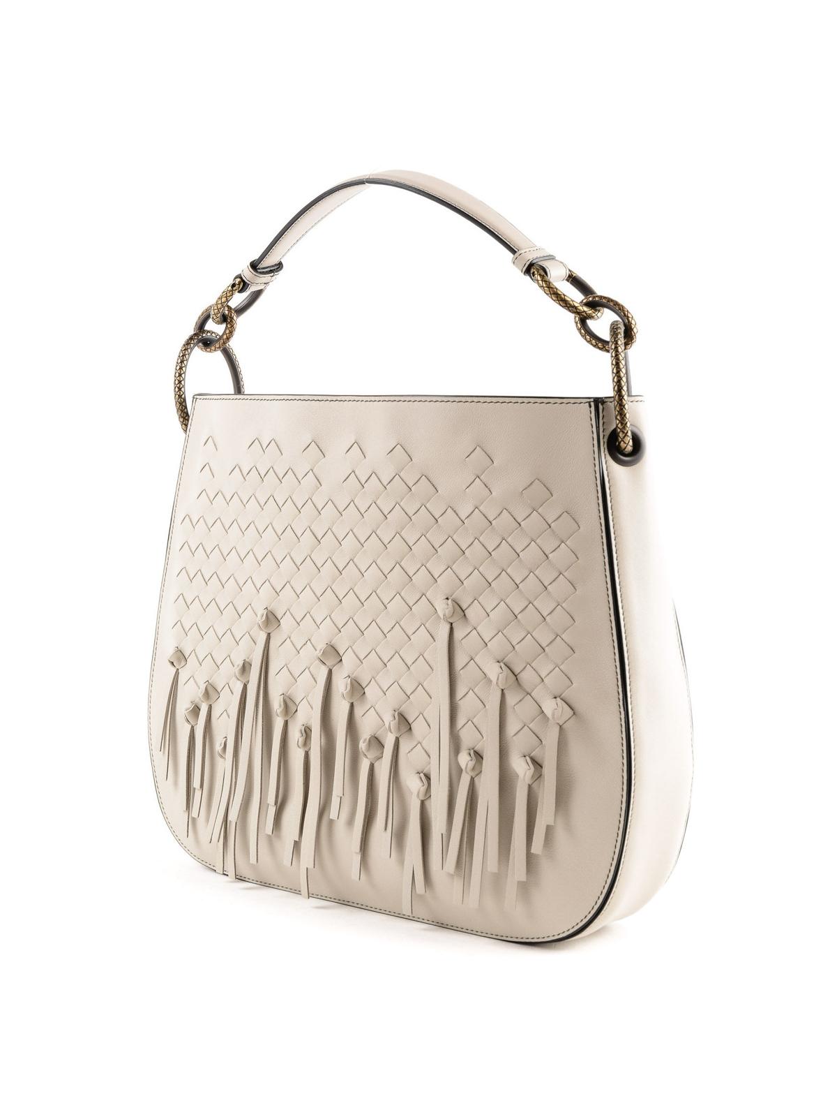 e8c7e911c06 BOTTEGA VENETA  shoulder bags online - Loop woven nappa shoulder bag