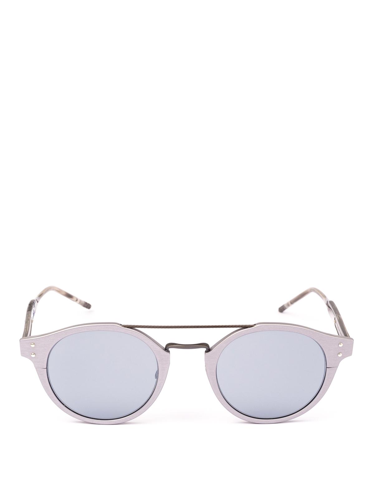 8c23ca64bd8 BOTTEGA VENETA  sunglasses online - Matte grey aviator sunglasses