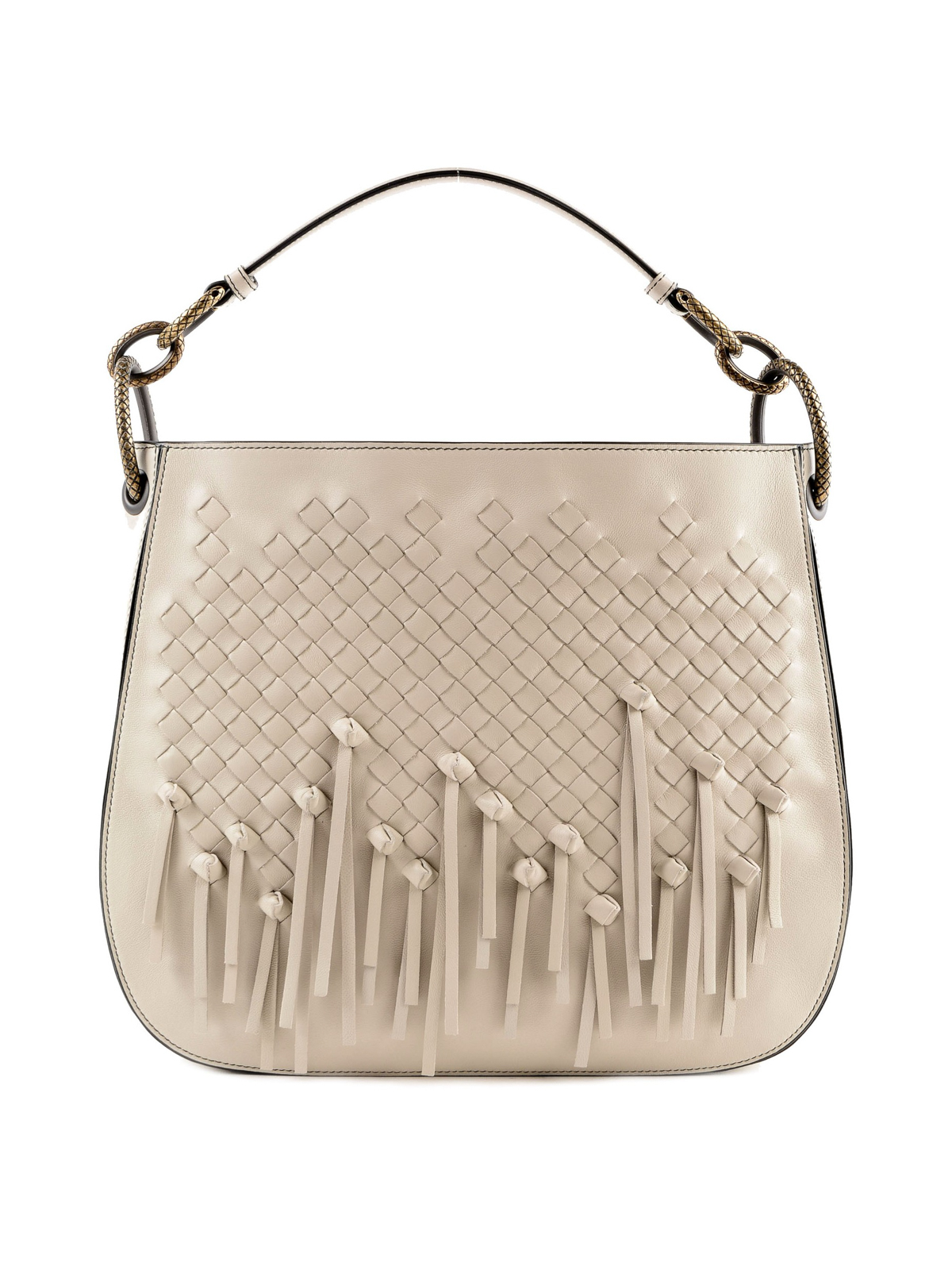 f431e50dabb Bottega Veneta - Loop woven nappa shoulder bag - shoulder bags ...
